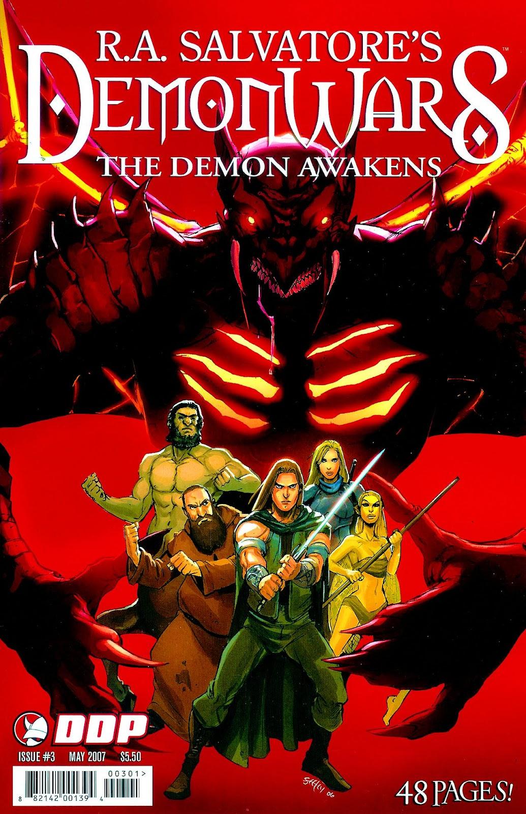 DemonWars: The Demon Awakens 3 Page 1