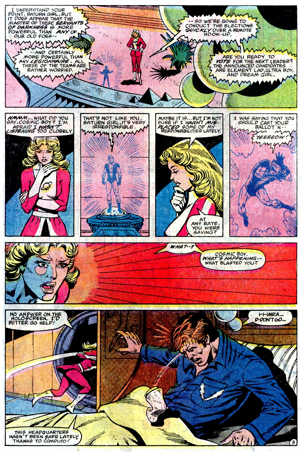 Legion of Super-Heroes (1980) 291 Page 22
