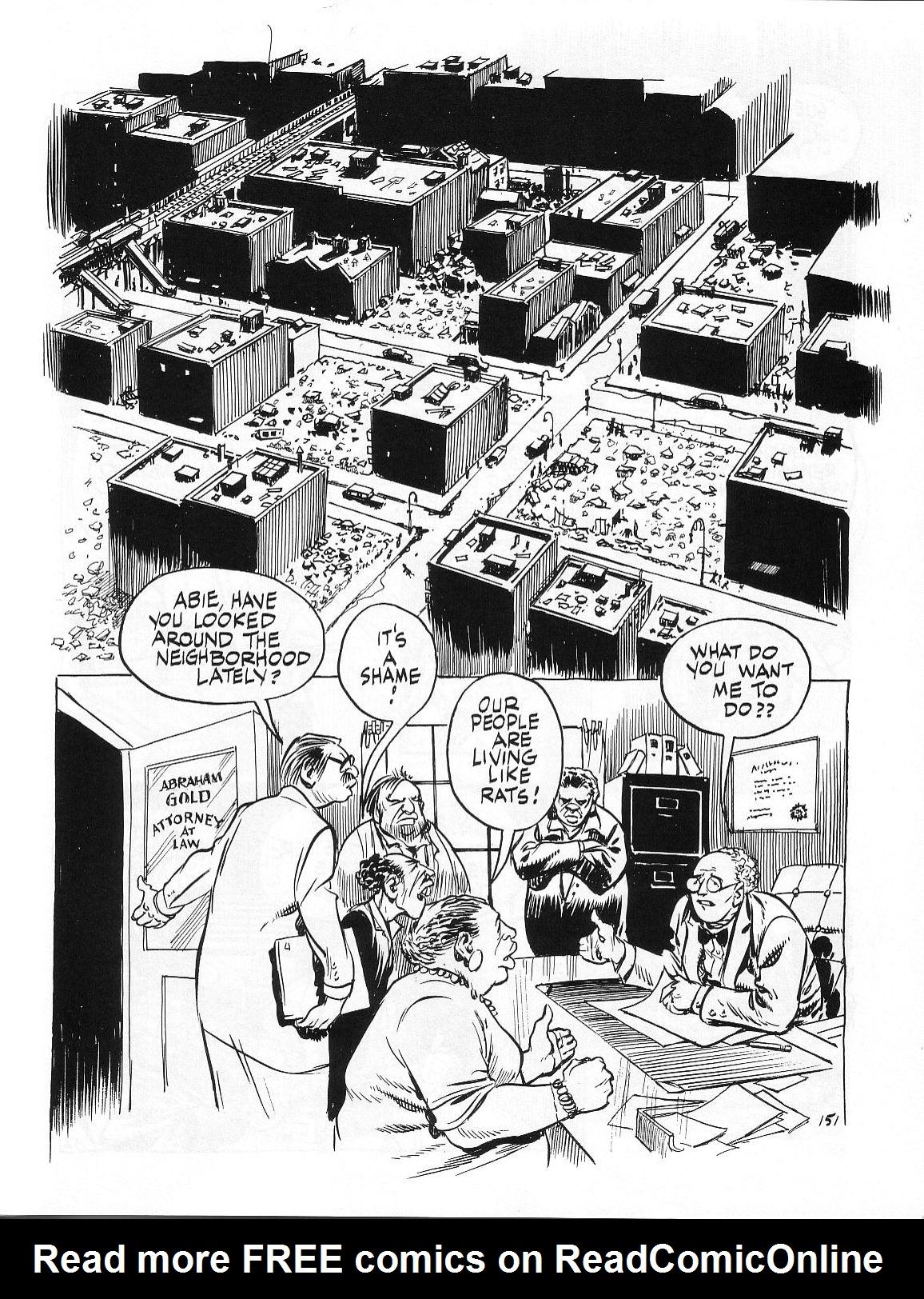 Read online Dropsie Avenue, The Neighborhood comic -  Issue # Full - 153