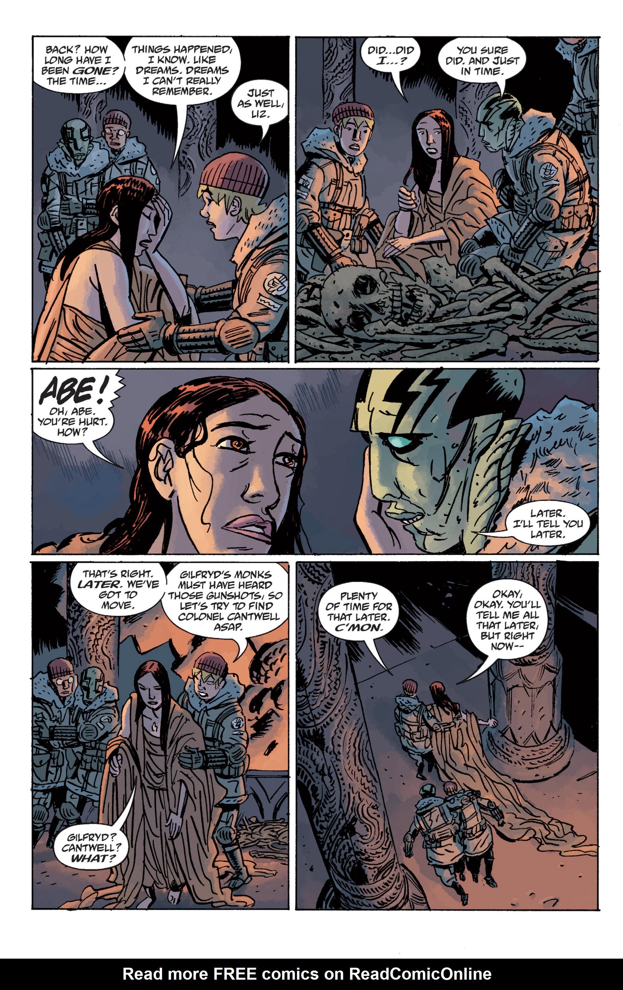 Read online B.P.R.D. (2003) comic -  Issue # TPB 11 - 127