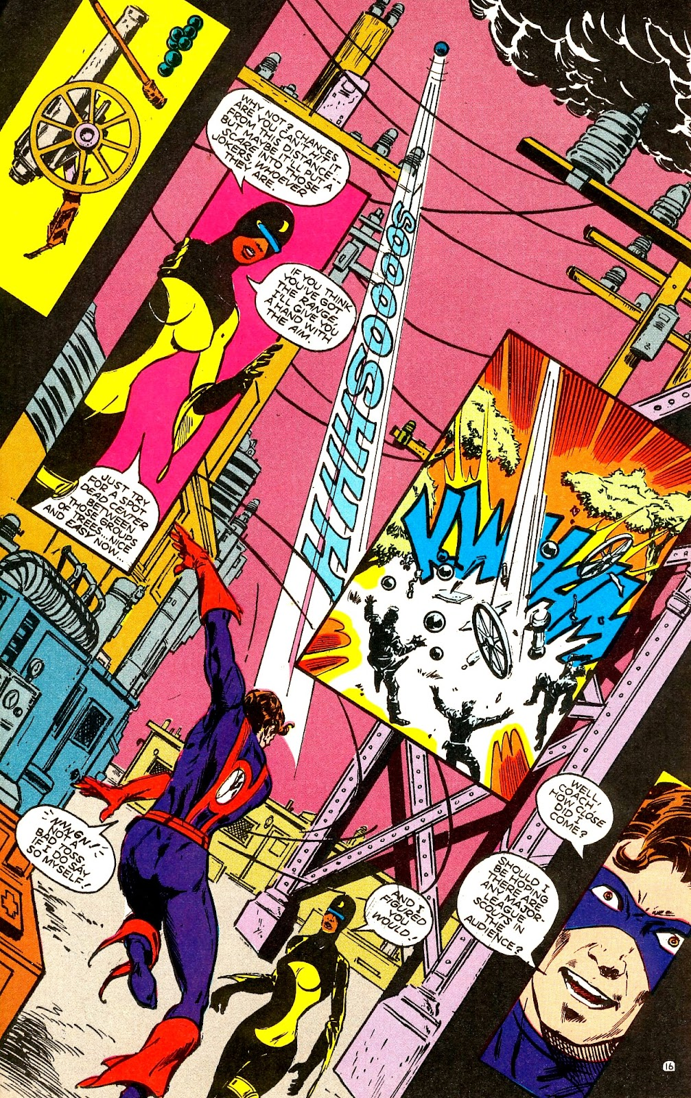 Infinity Inc. (1984) issue 22 - Page 18
