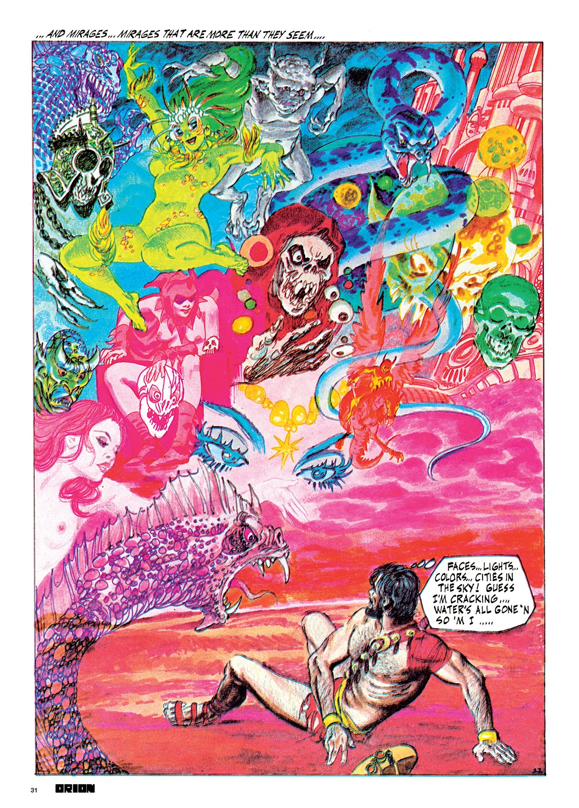 Read online Orion and Edge of Chaos comic -  Issue # TPB - 32