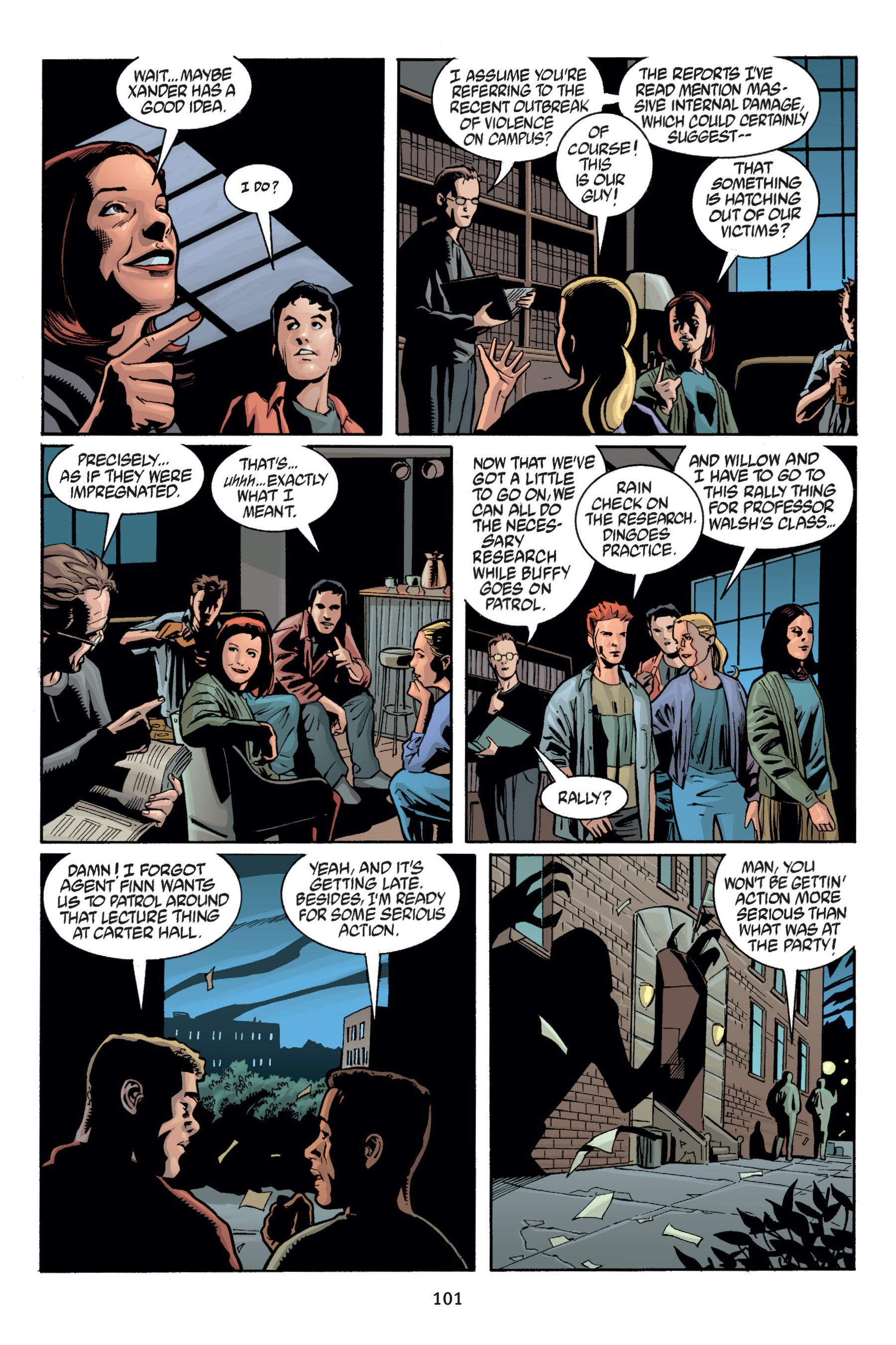 Read online Buffy the Vampire Slayer: Omnibus comic -  Issue # TPB 5 - 102
