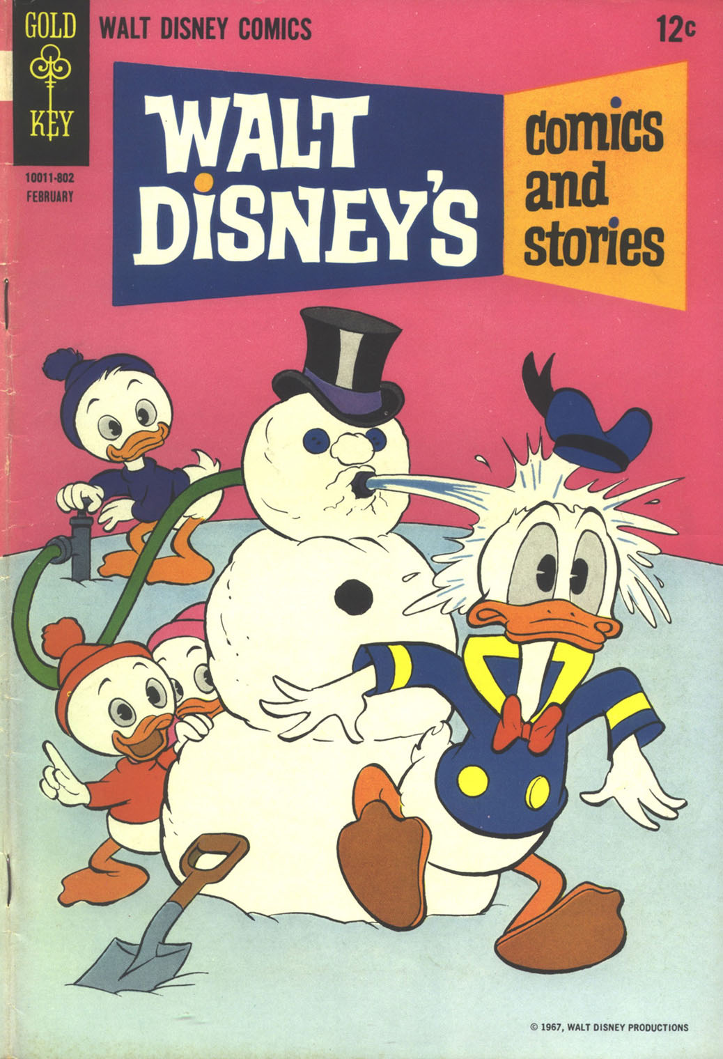 Walt Disney's Comics and Stories issue 329 - Page 1