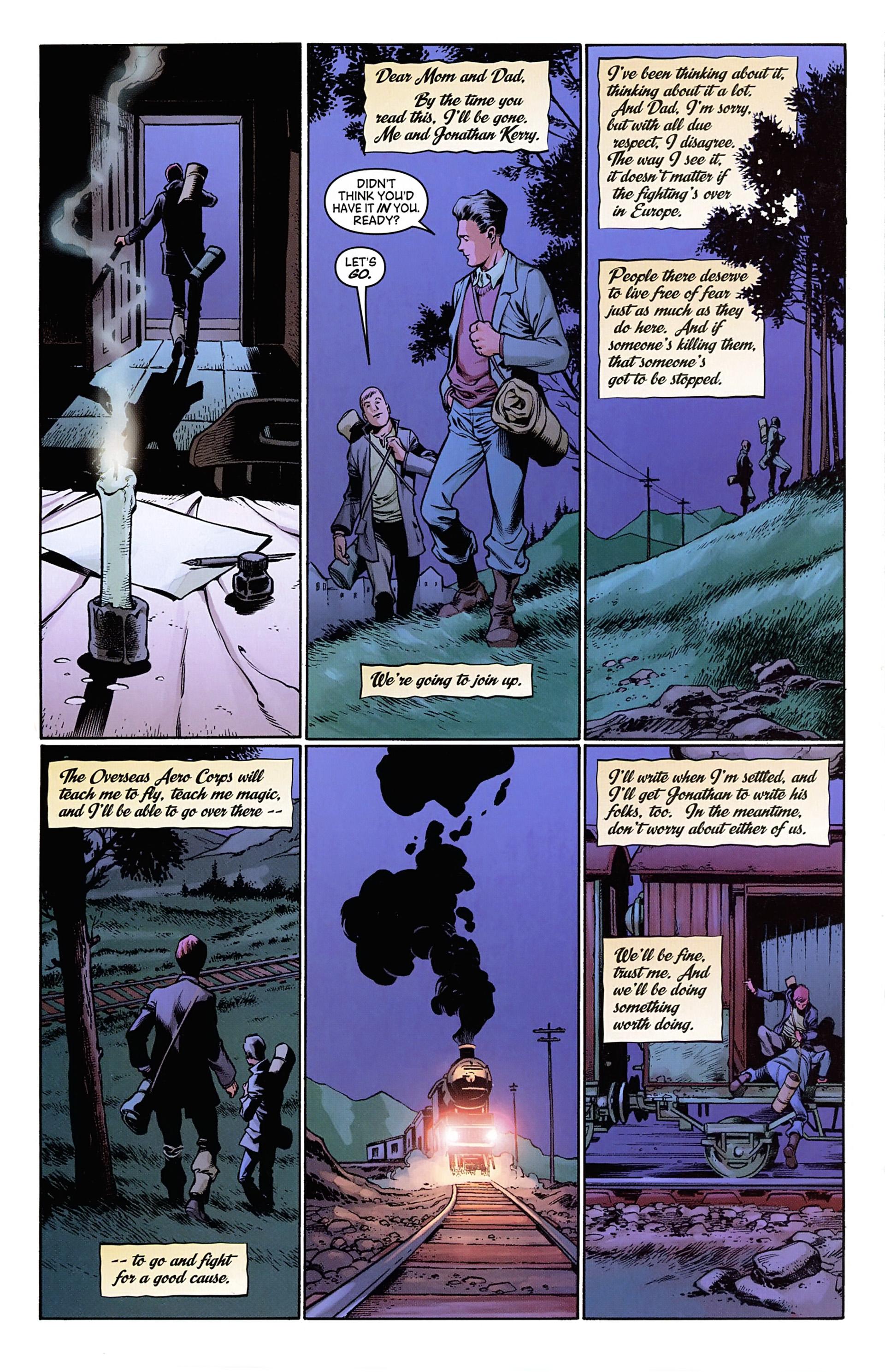 Read online Arrowsmith comic -  Issue #1 - 22