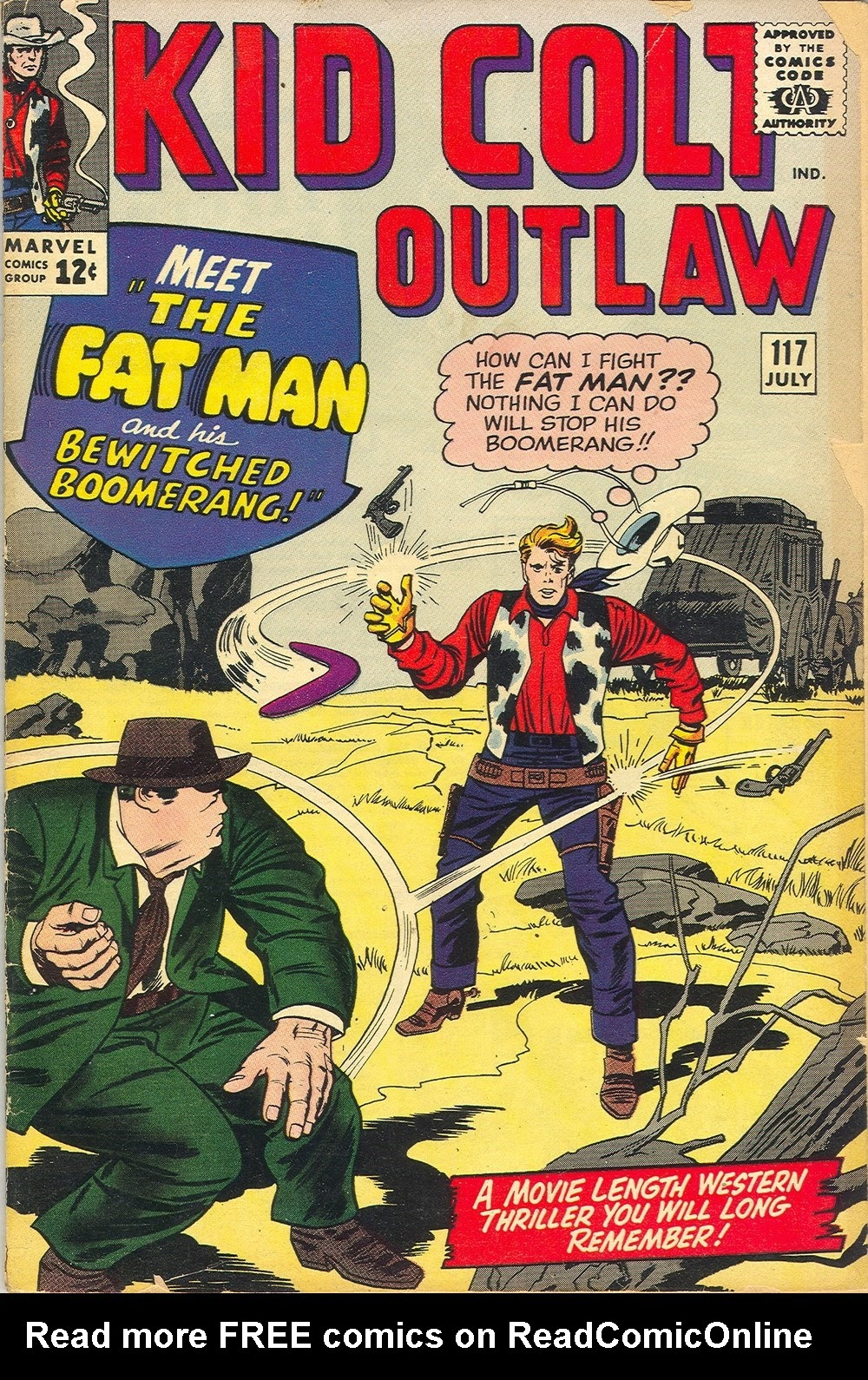 Kid Colt Outlaw issue 117 - Page 1