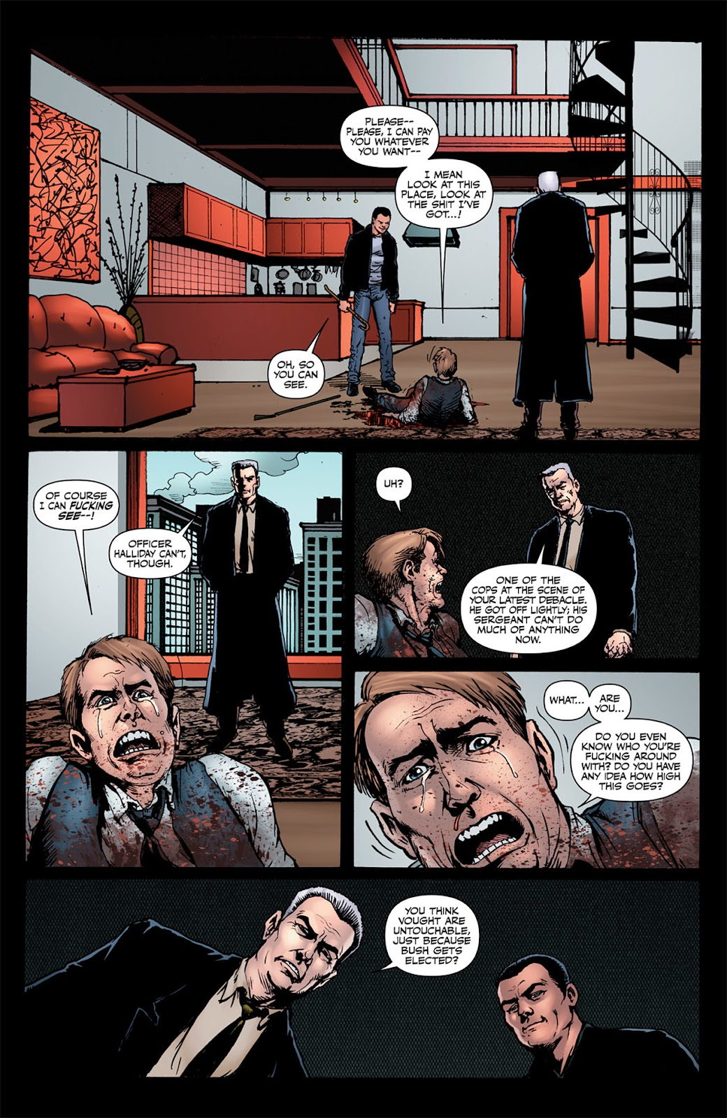 Read online The Boys: Butcher, Baker, Candlestickmaker comic -  Issue #6 - 4