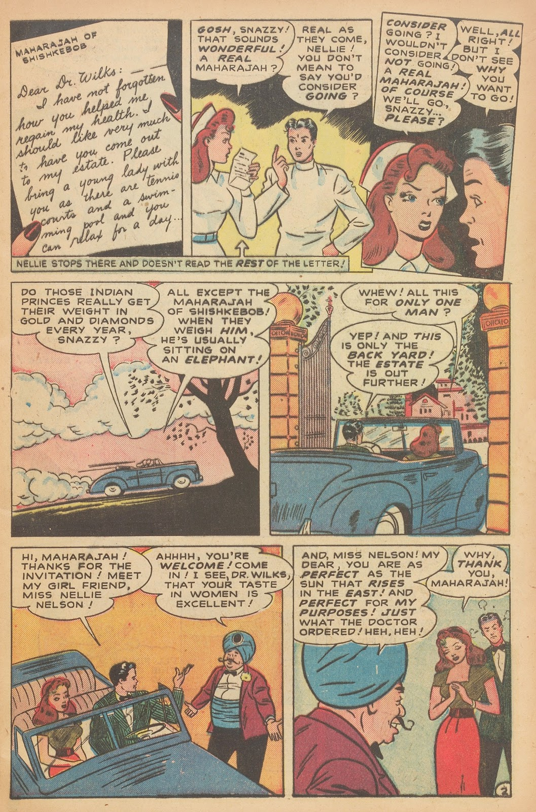 Read online Nellie The Nurse (1945) comic -  Issue #15 - 13