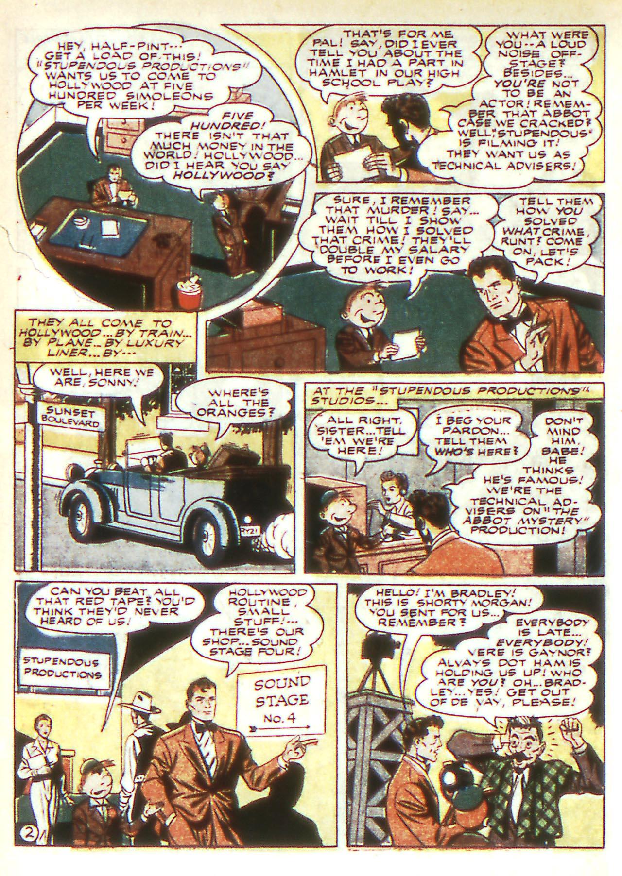 Read online Detective Comics (1937) comic -  Issue #81 - 18