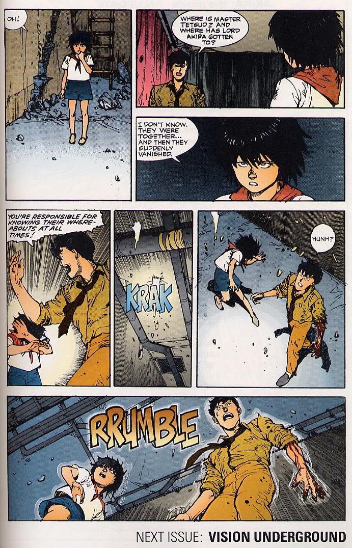 Read online Akira comic -  Issue #24 - 63