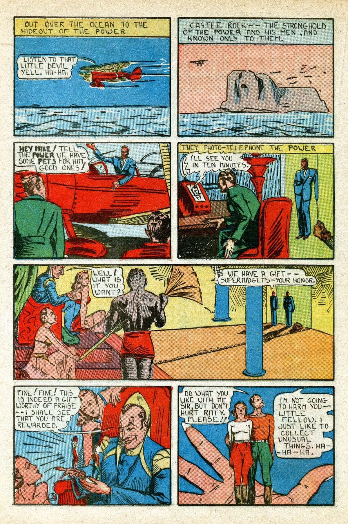 Read online Amazing Man Comics comic -  Issue #8 - 38