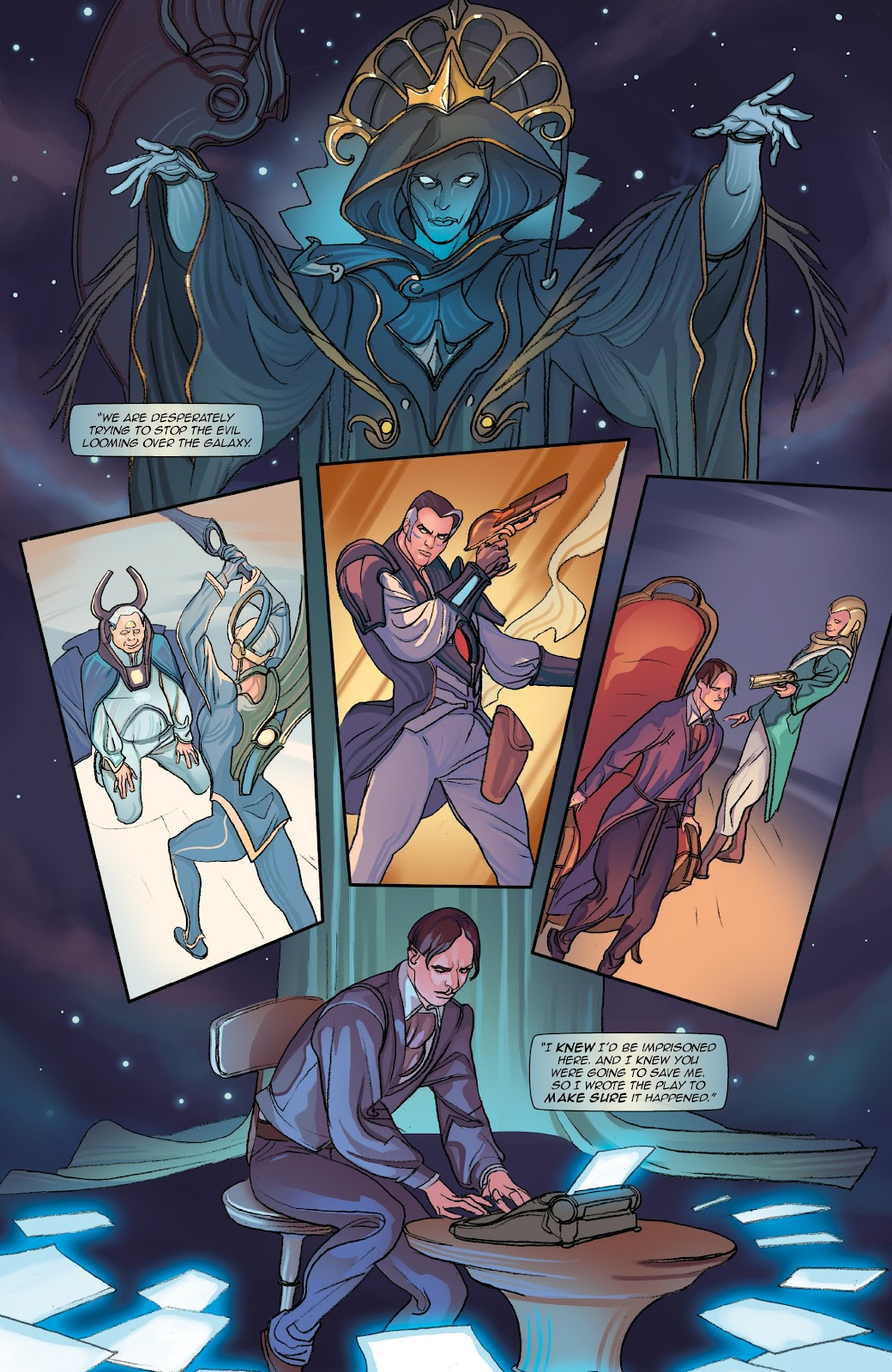 Read online Lightstep comic -  Issue #5 - 16