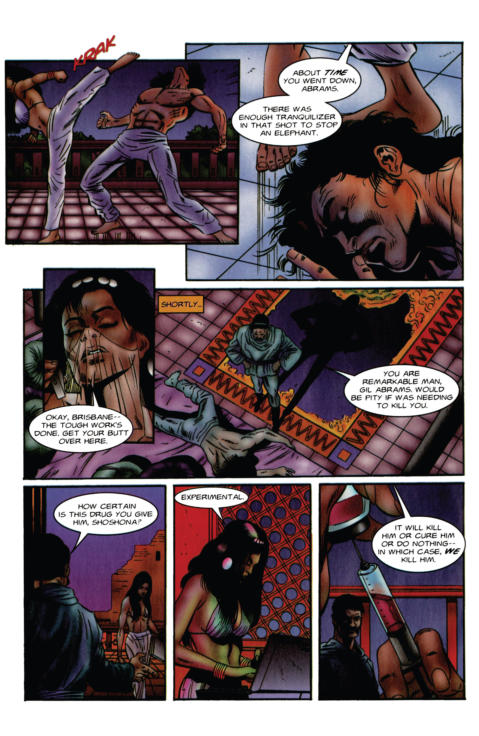 Read online Eternal Warrior (1992) comic -  Issue #48 - 20
