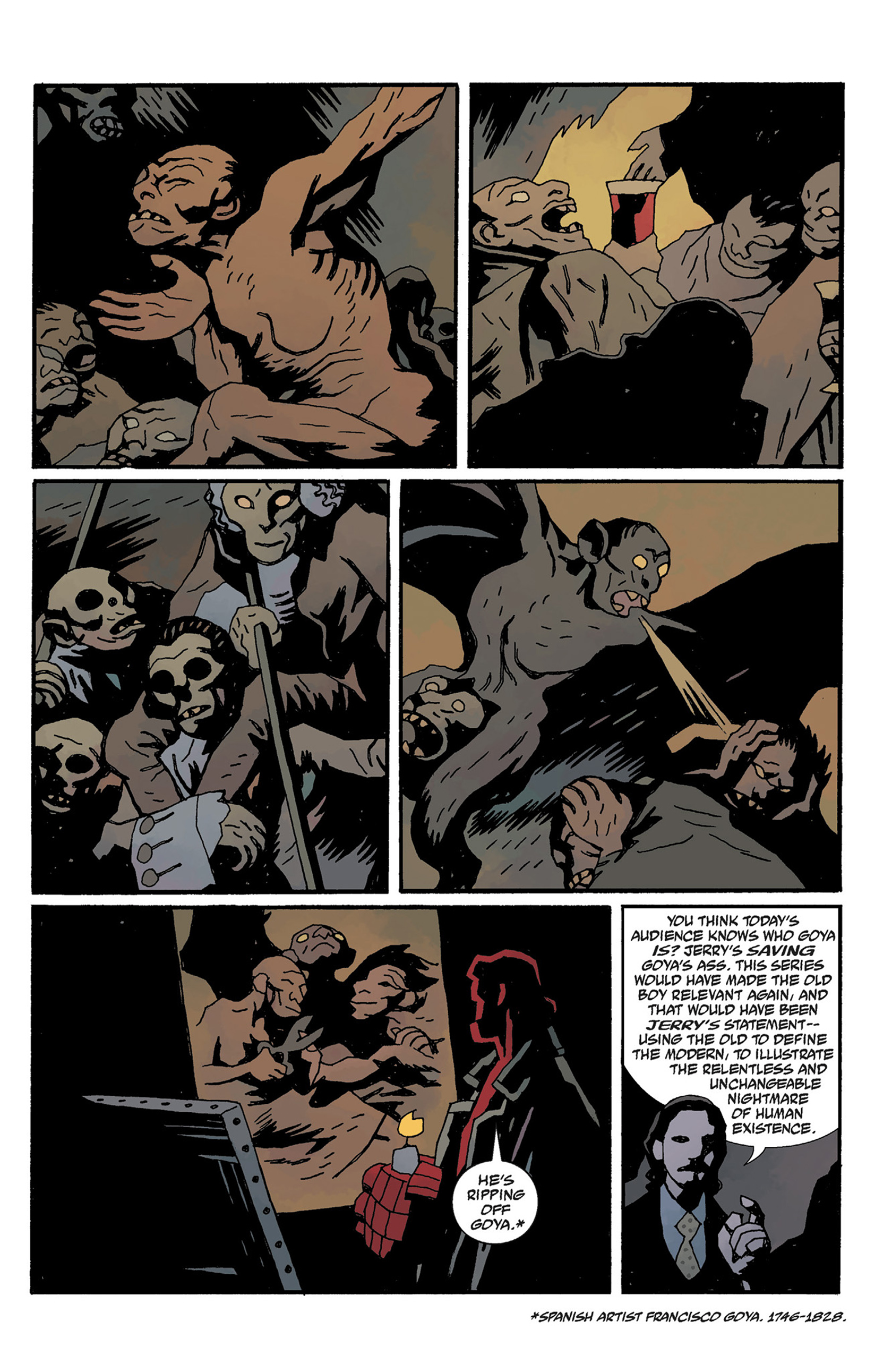 Read online Hellboy: The Crooked Man and Others comic -  Issue # TPB - 113