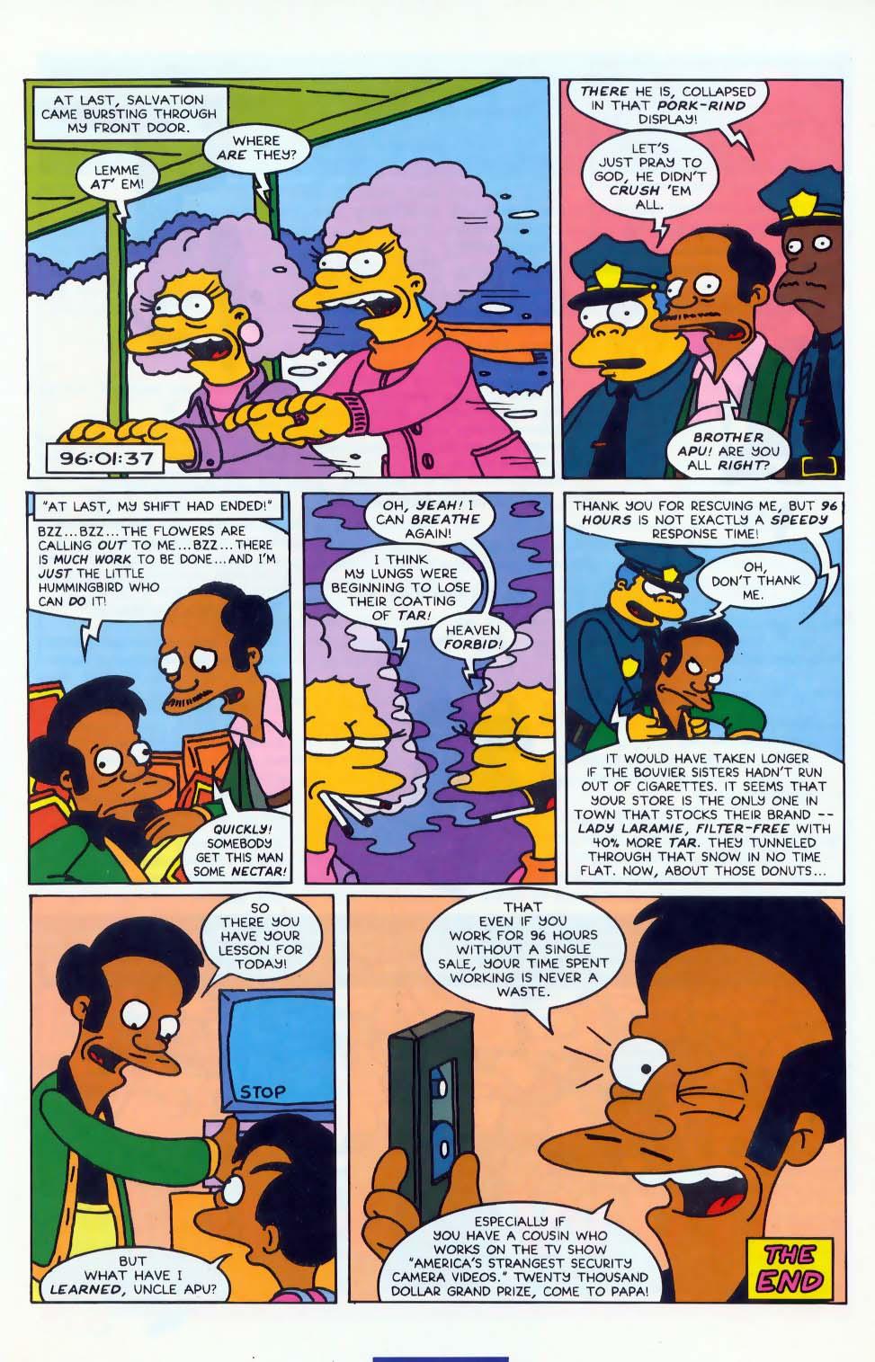 Read online Simpsons Comics comic -  Issue #10 - 31