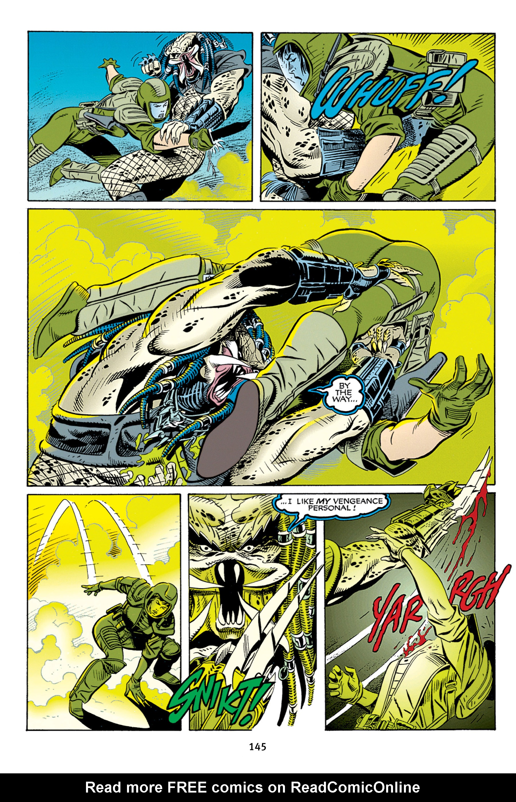 Read online Aliens vs. Predator Omnibus comic -  Issue # _TPB 2 Part 2 - 33