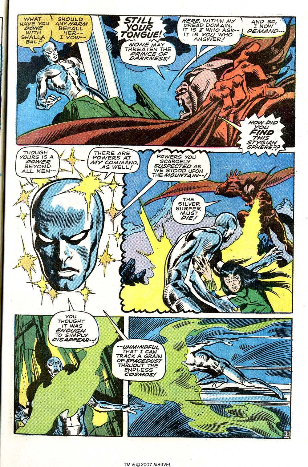 Silver Surfer (1968) issue 3 - Page 29