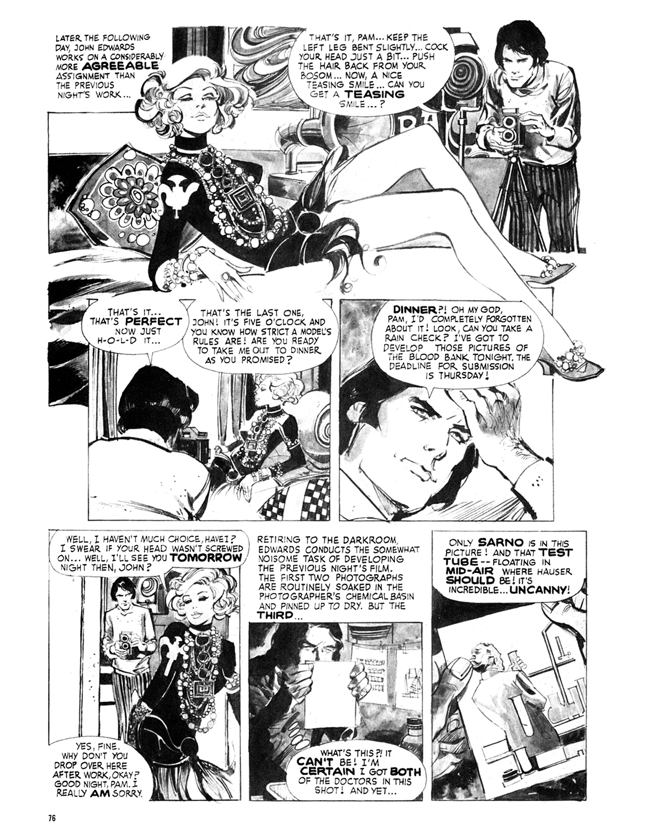 Read online Eerie Archives comic -  Issue # TPB 8 - 77