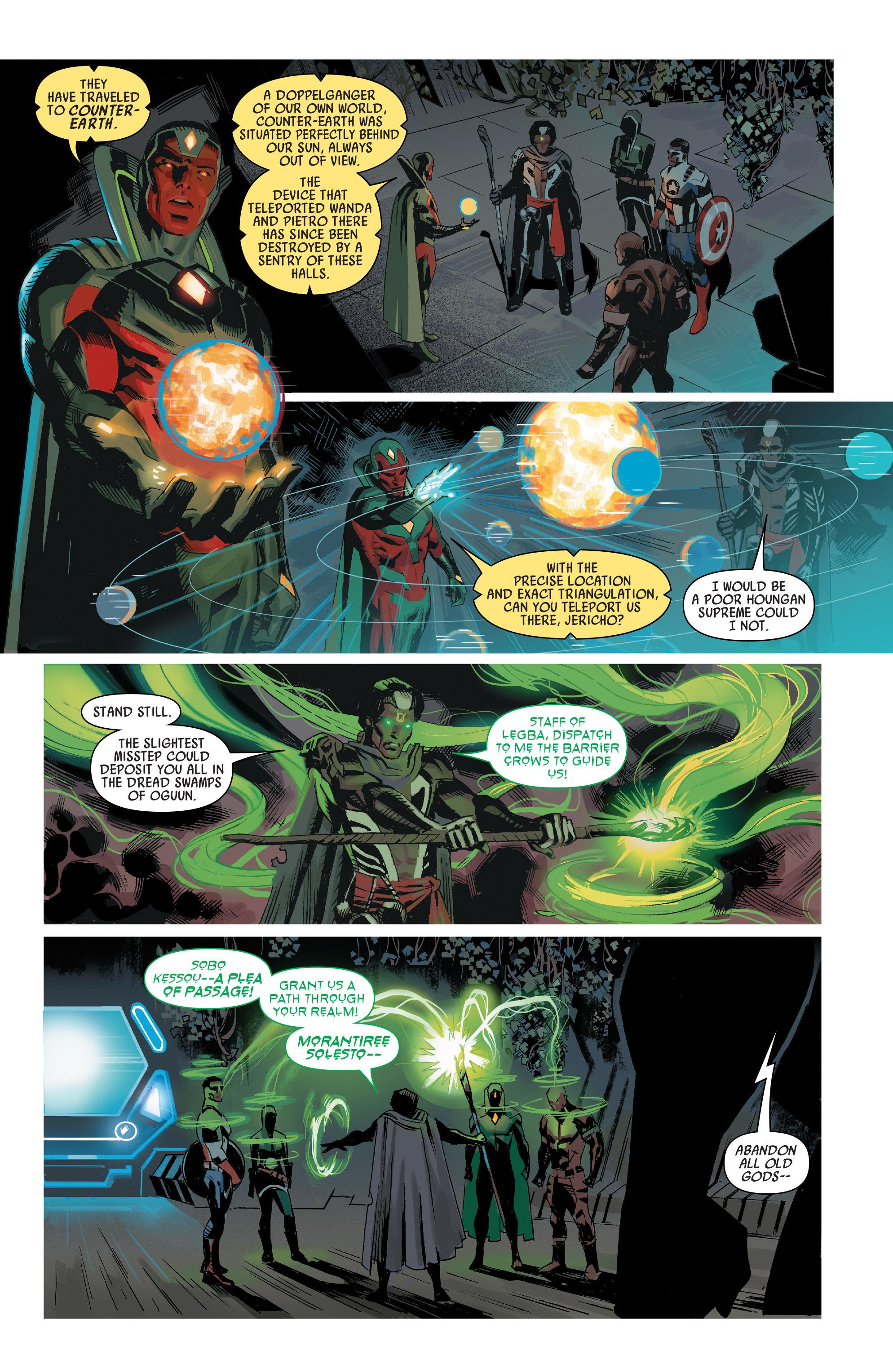 Read online Uncanny Avengers [I] comic -  Issue #1 - 13