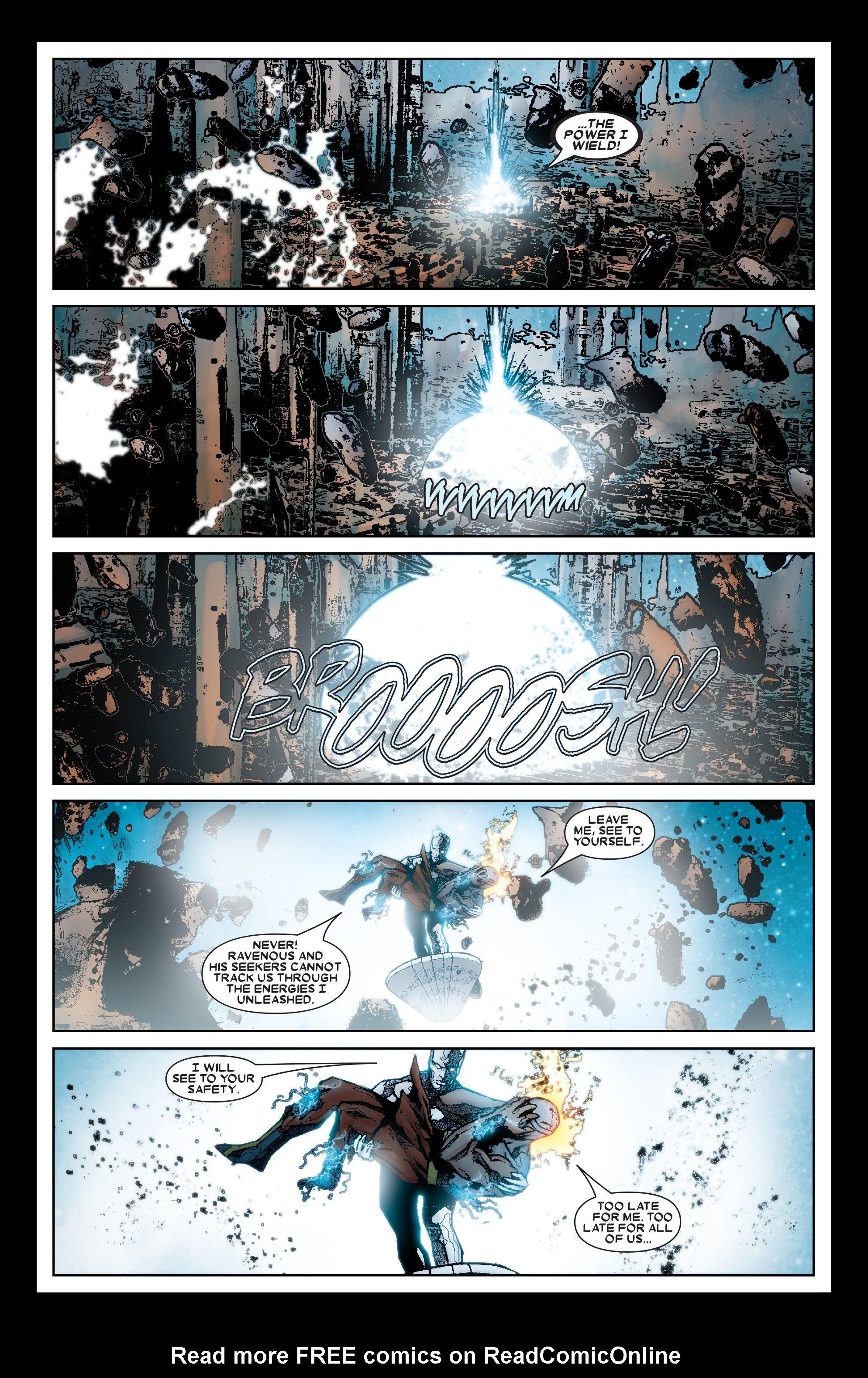 Read online Annihilation: Silver Surfer comic -  Issue #1 - 12