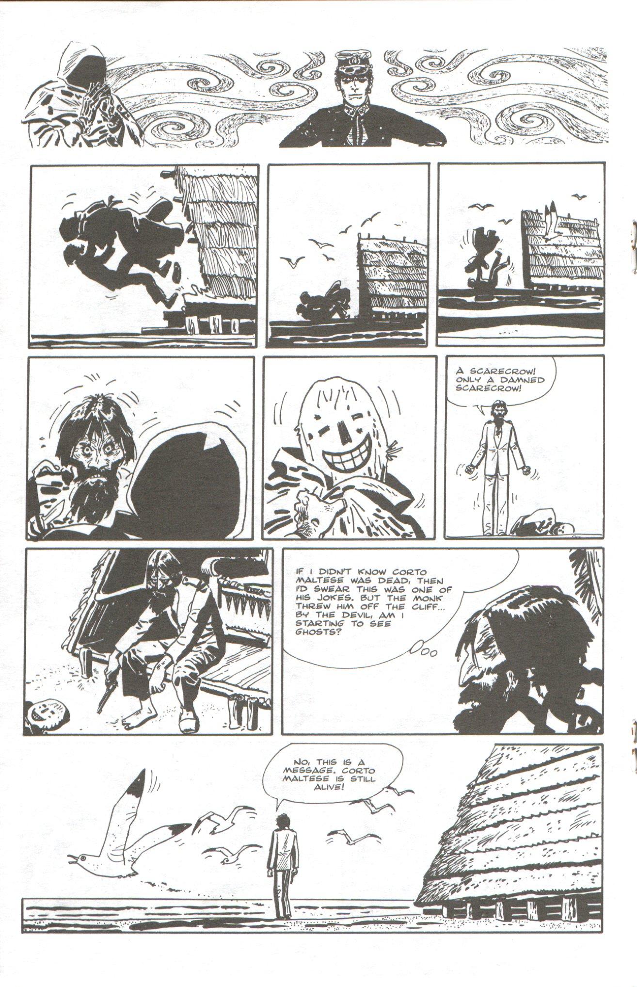 Read online Corto Maltese: Ballad of the Salt Sea comic -  Issue #5 - 14