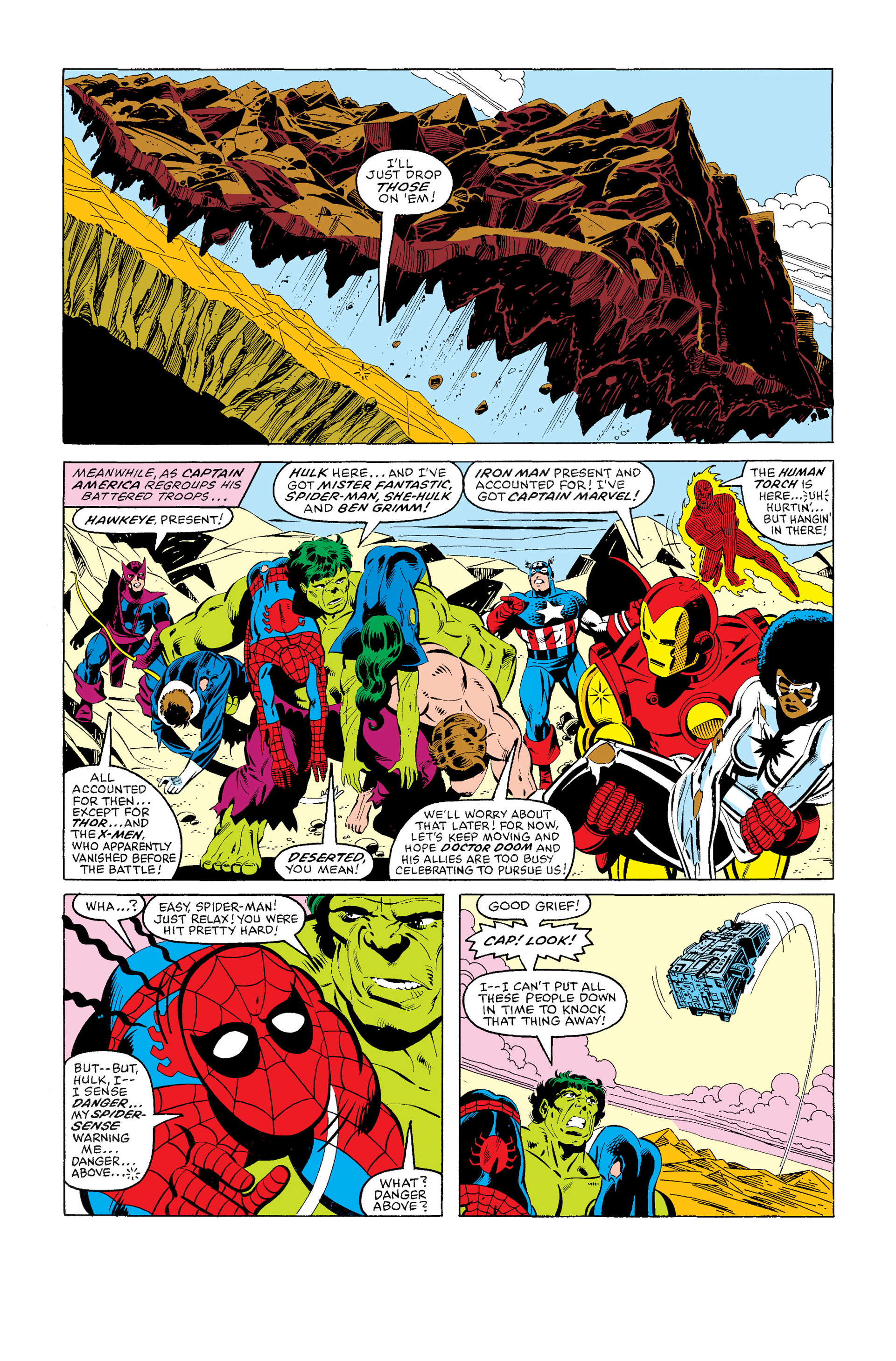 Read online Secret Wars (1985) comic -  Issue #4 - 5