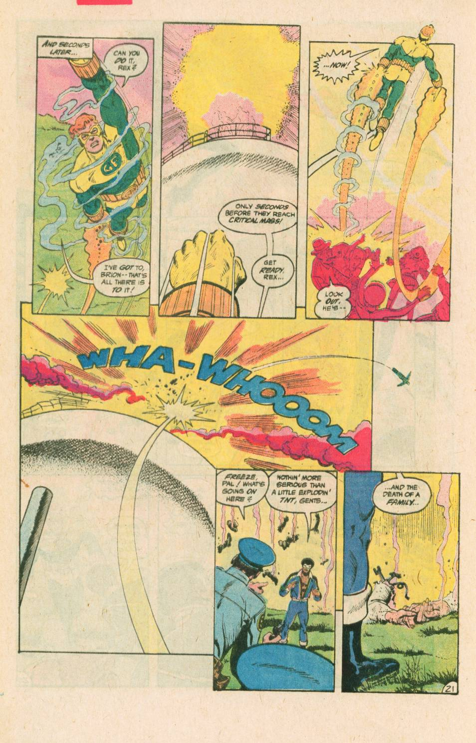 Read online Adventures of the Outsiders comic -  Issue #40 - 22