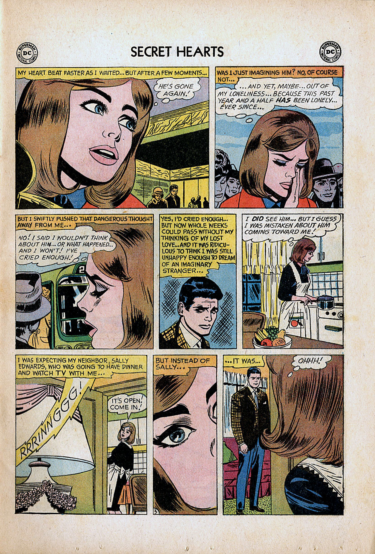 Read online Secret Hearts comic -  Issue #86 - 5