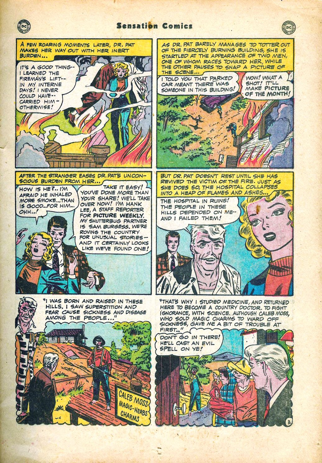 Read online Sensation (Mystery) Comics comic -  Issue #95 - 17