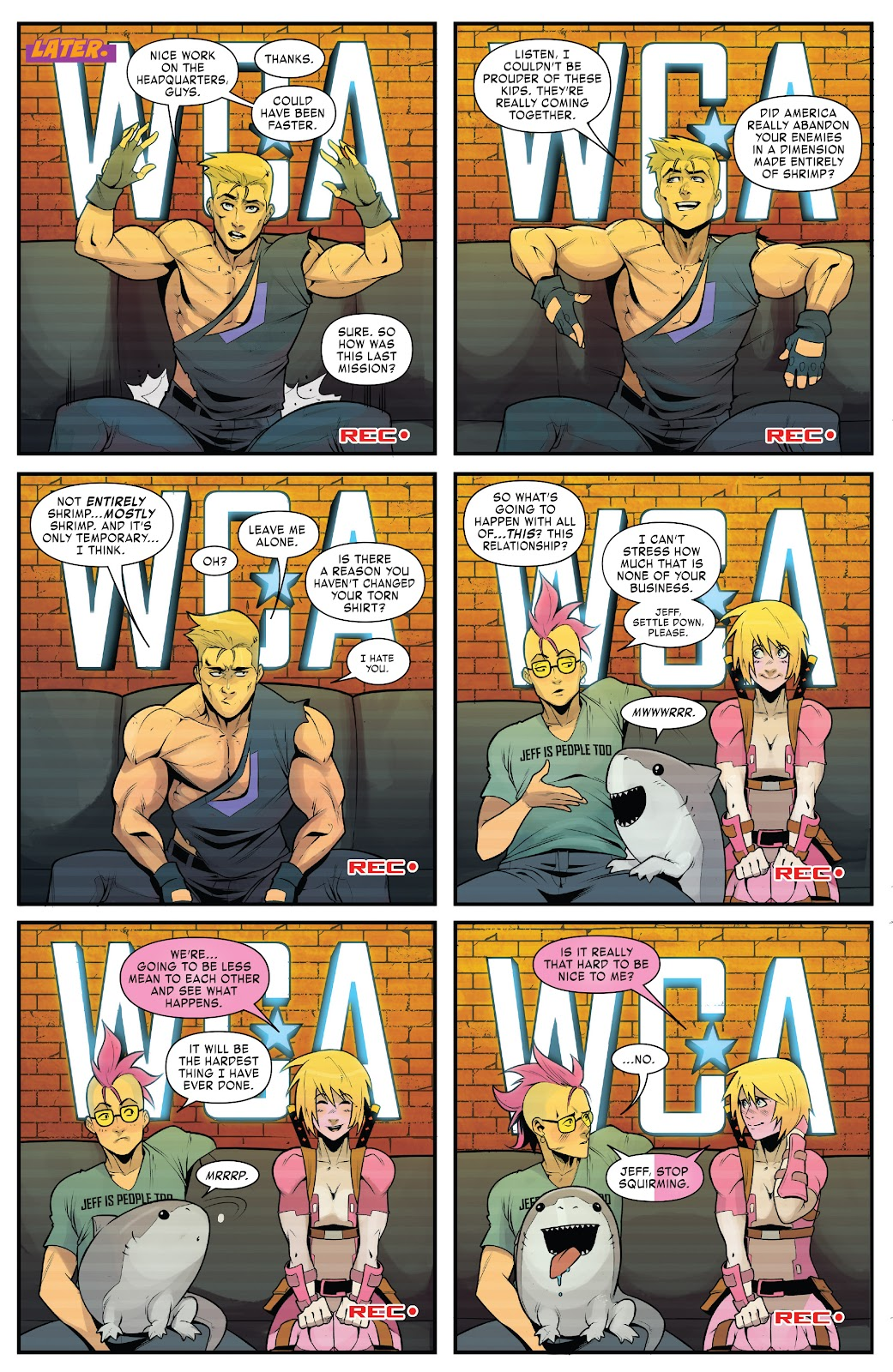 Read online West Coast Avengers (2018) comic -  Issue #10 - 16