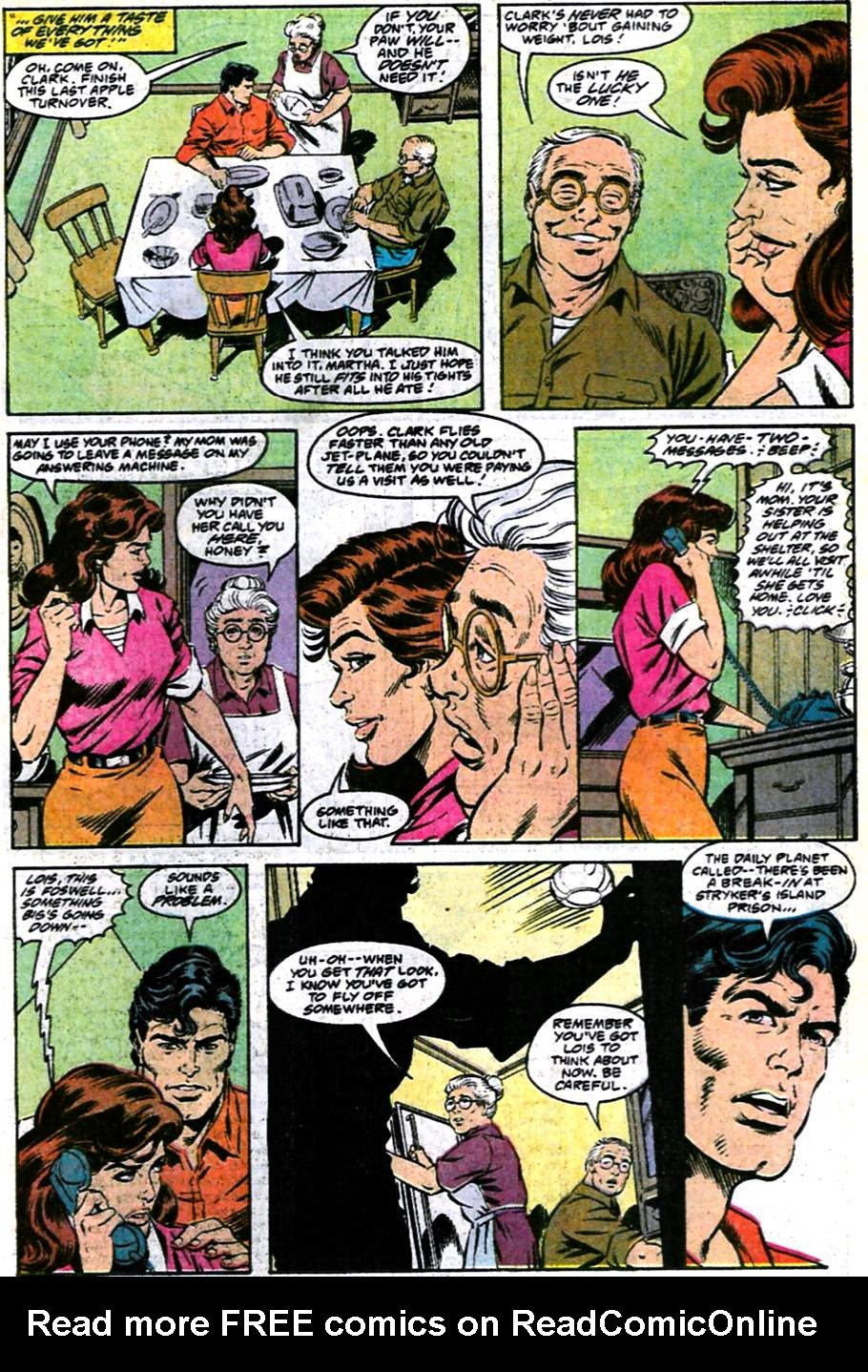 Read online Adventures of Superman (1987) comic -  Issue #486 - 14