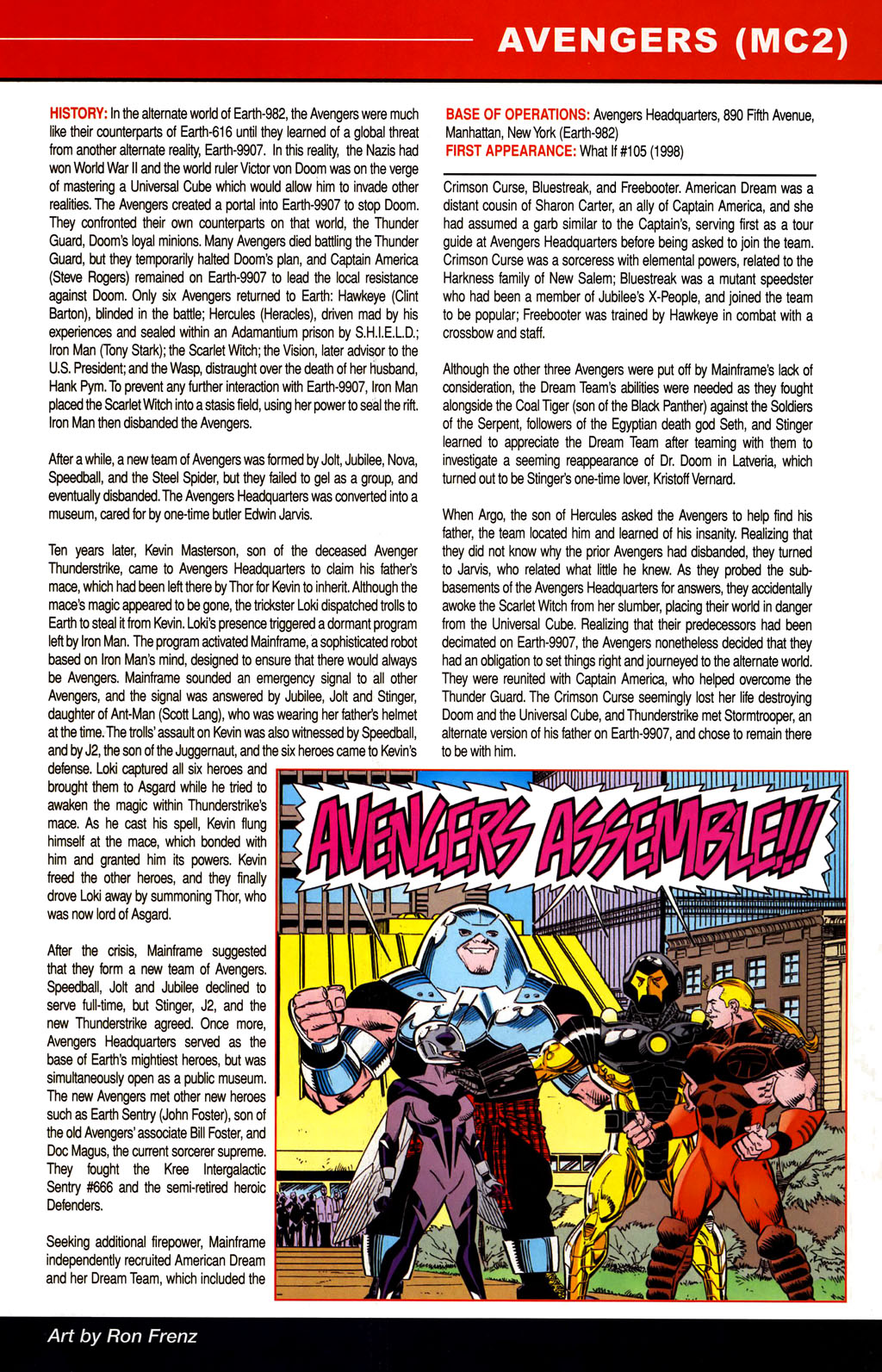 Read online All-New Official Handbook of the Marvel Universe A to Z comic -  Issue #1 - 43