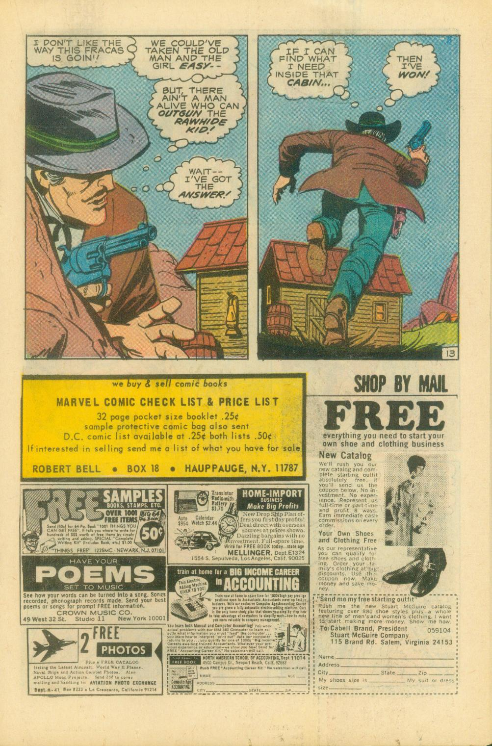 The Rawhide Kid (1955) issue 87 - Page 20