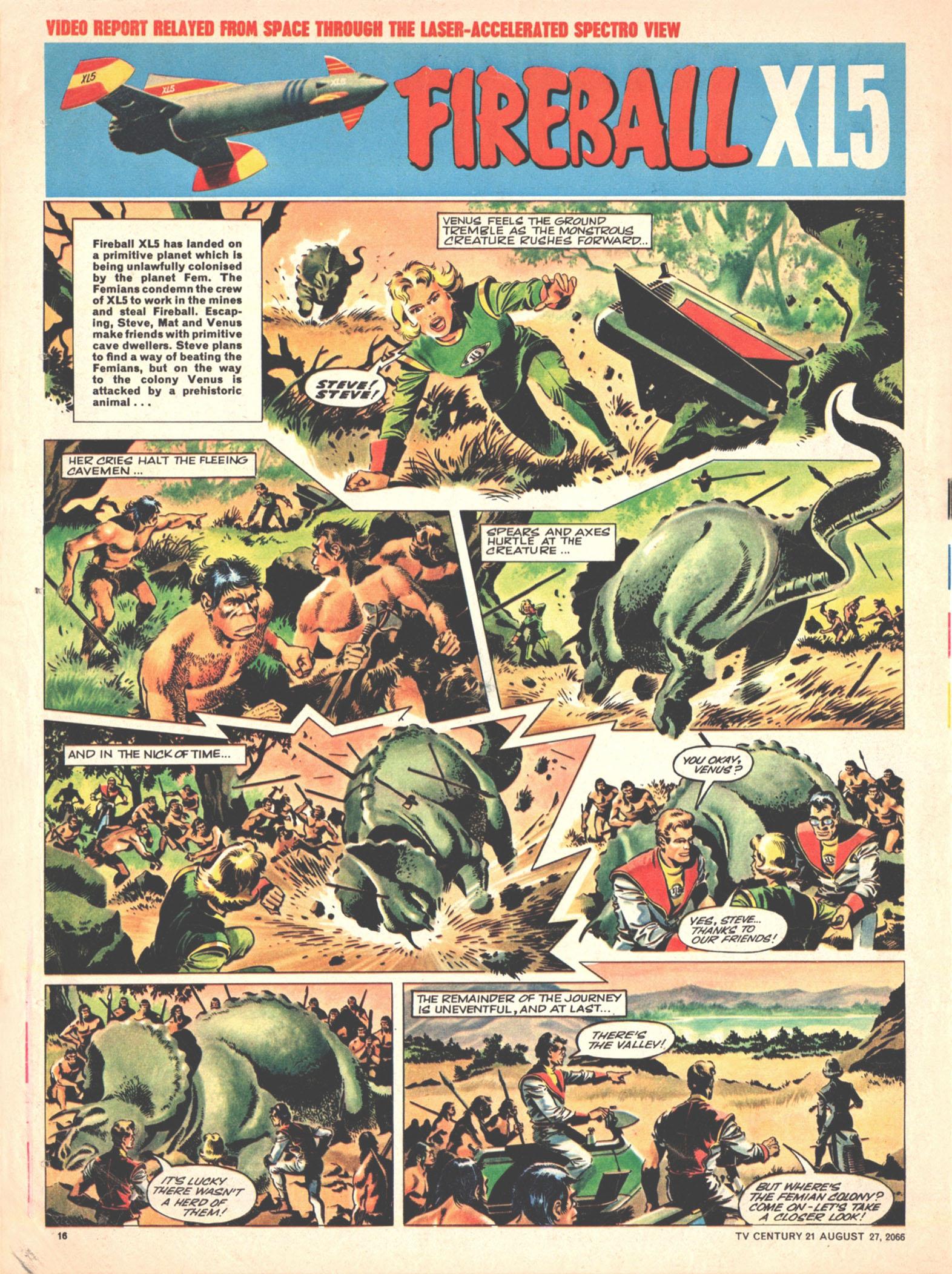 Read online TV Century 21 (TV 21) comic -  Issue #84 - 15