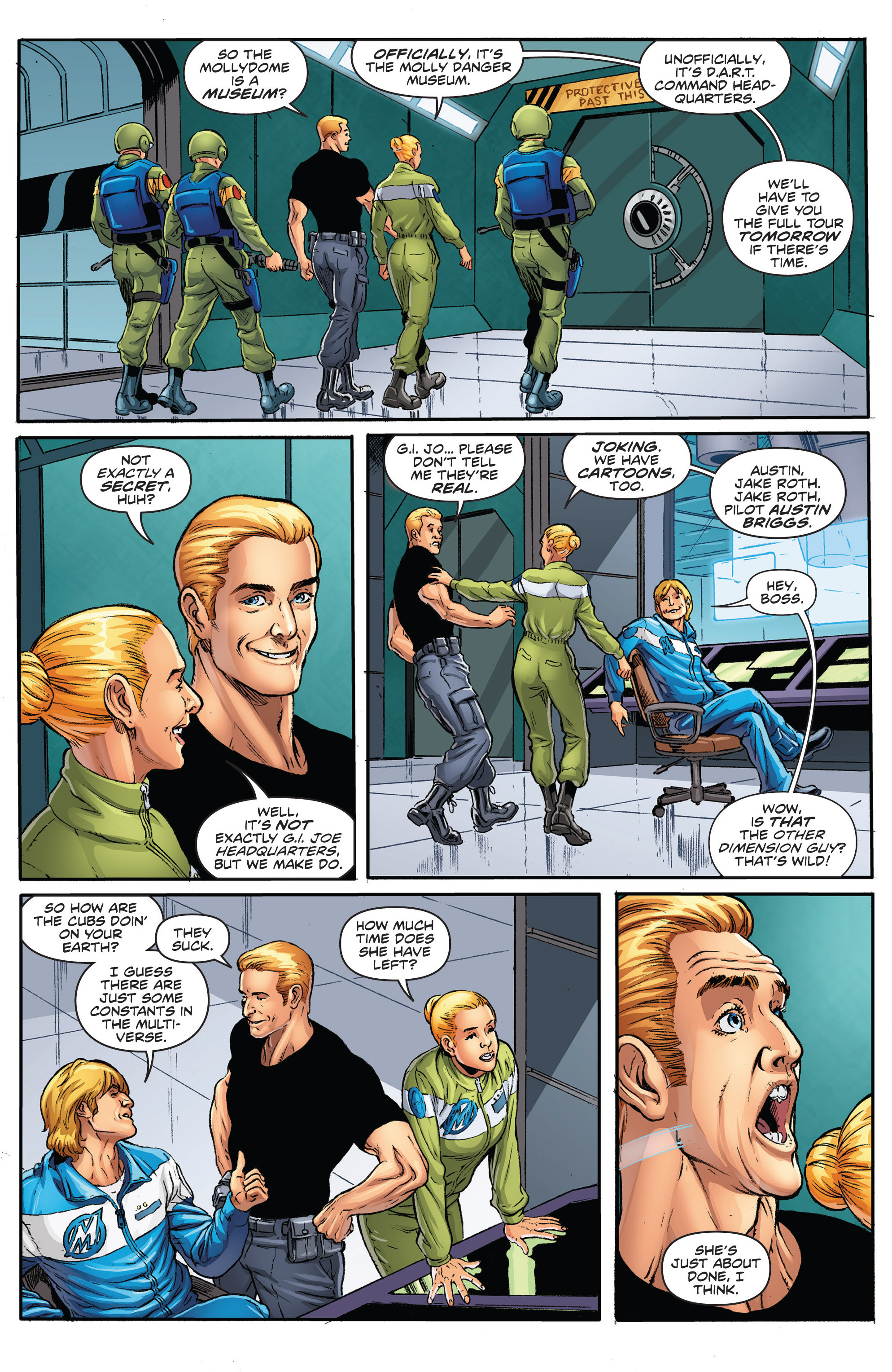 Read online Actionverse comic -  Issue #2 - 9