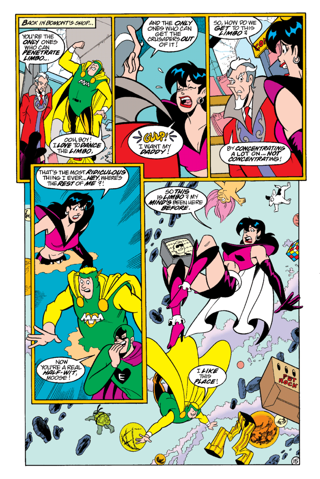 Read online Archie's Weird Mysteries comic -  Issue #14 - 17