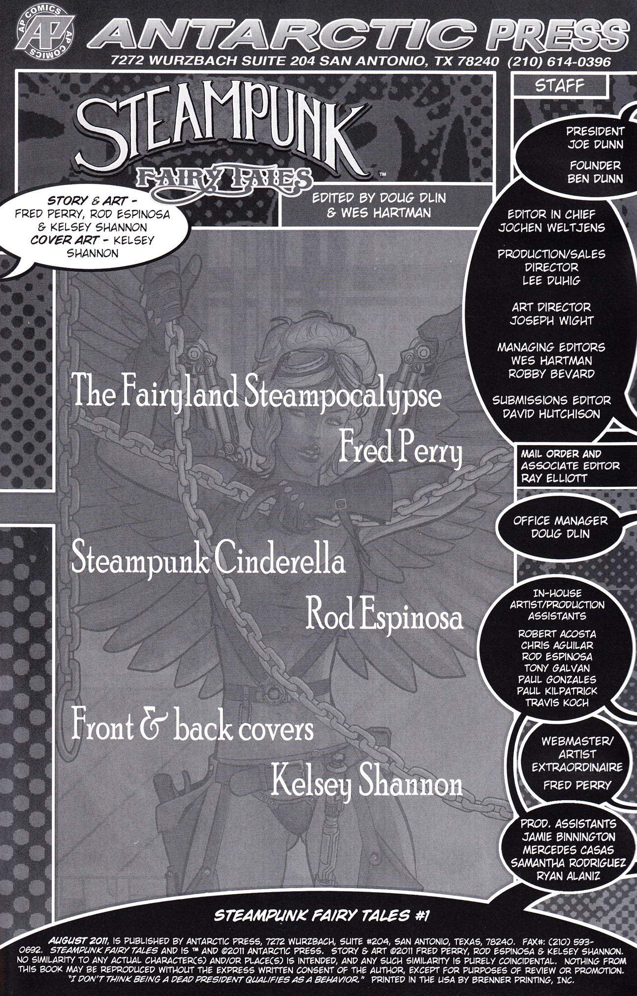 Read online Steampunk Fairy Tales comic -  Issue # Full - 2