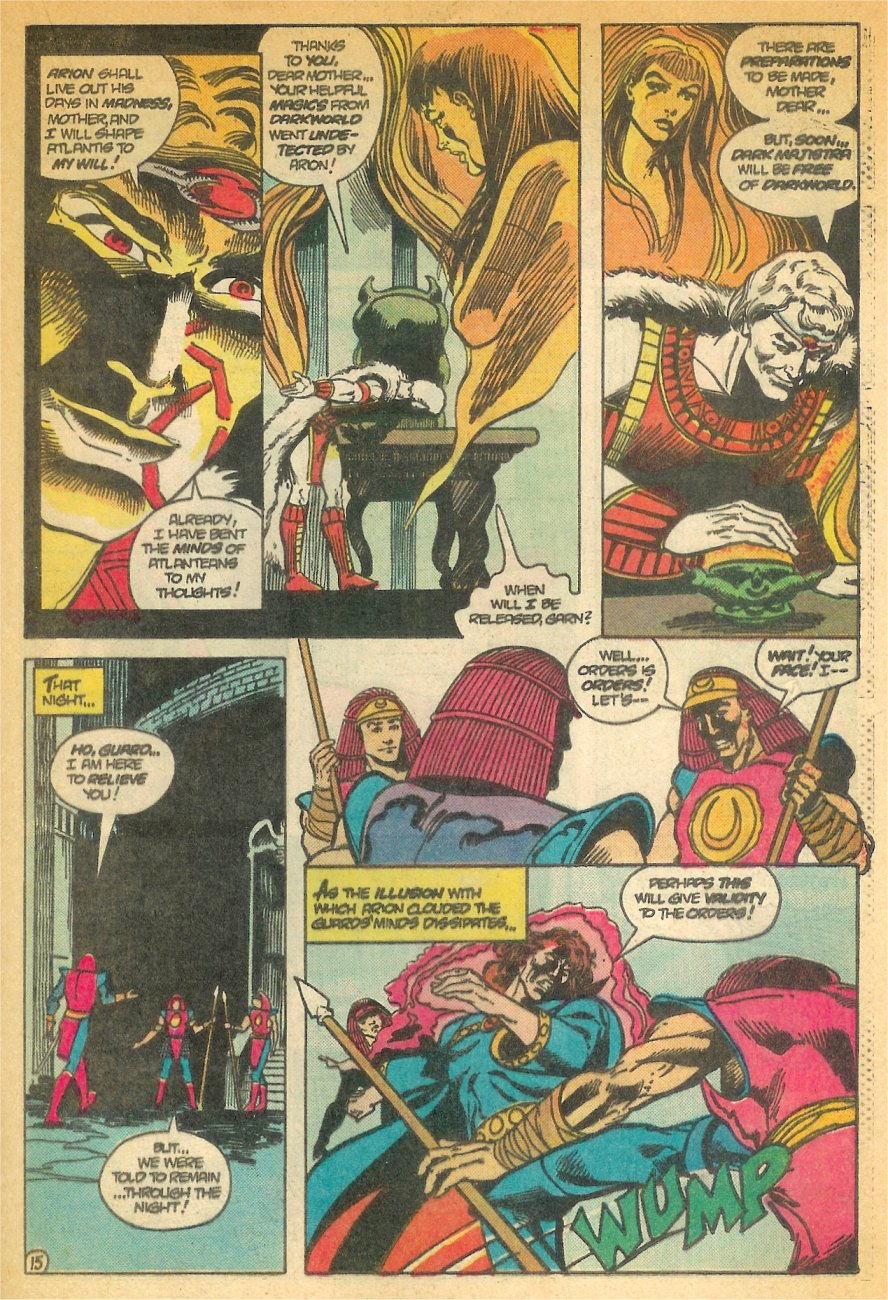 Read online Arion, Lord of Atlantis comic -  Issue #24 - 16