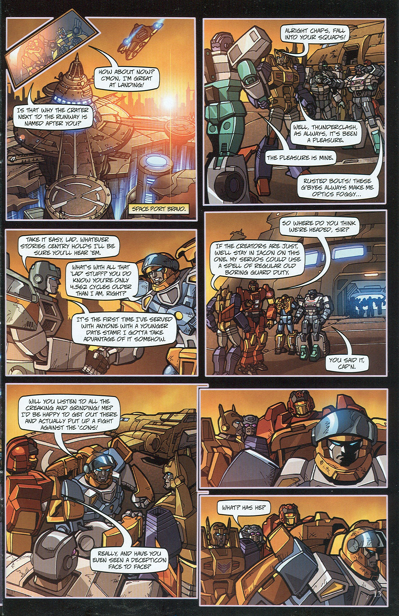 Read online Transformers: Collectors' Club comic -  Issue #32 - 13