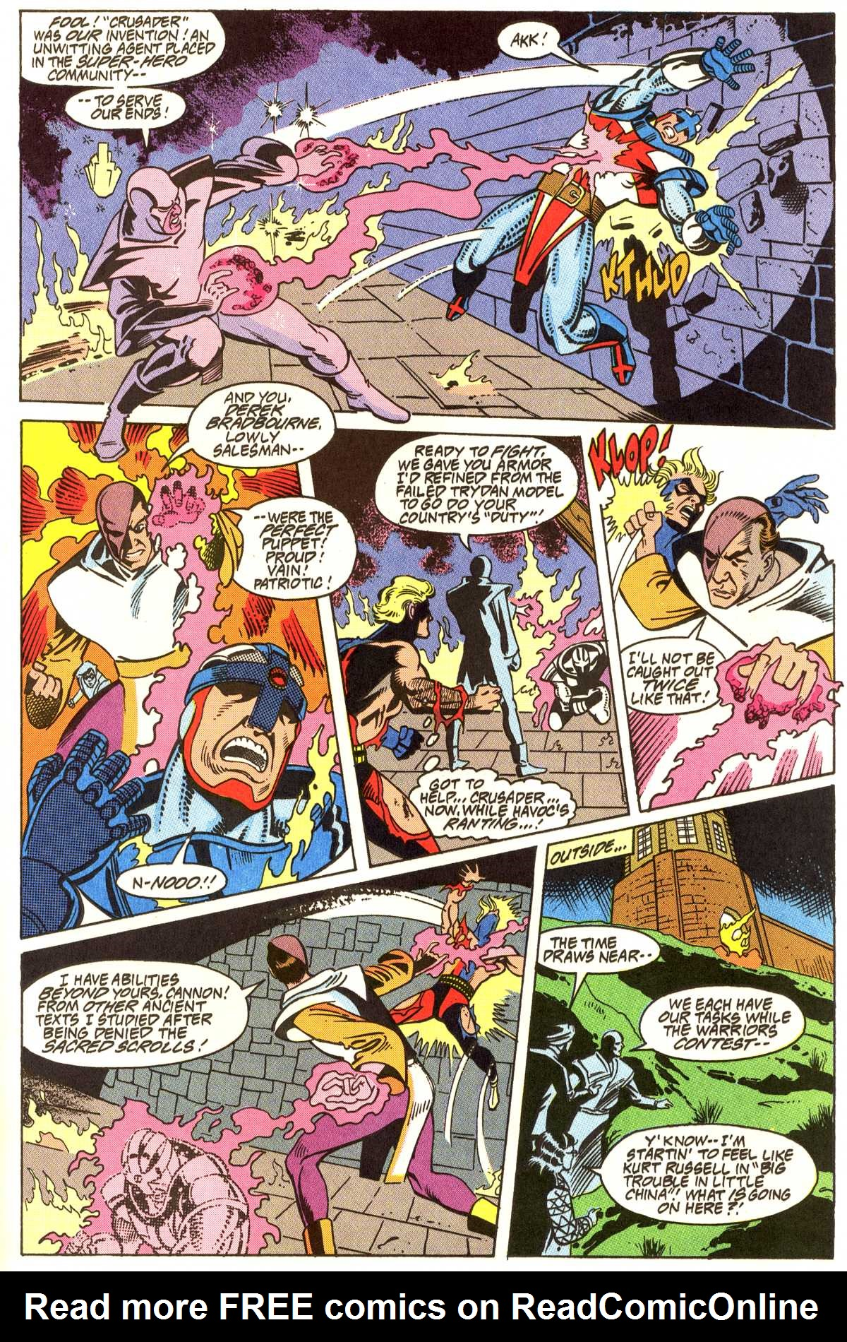 Read online Peter Cannon--Thunderbolt (1992) comic -  Issue #11 - 16