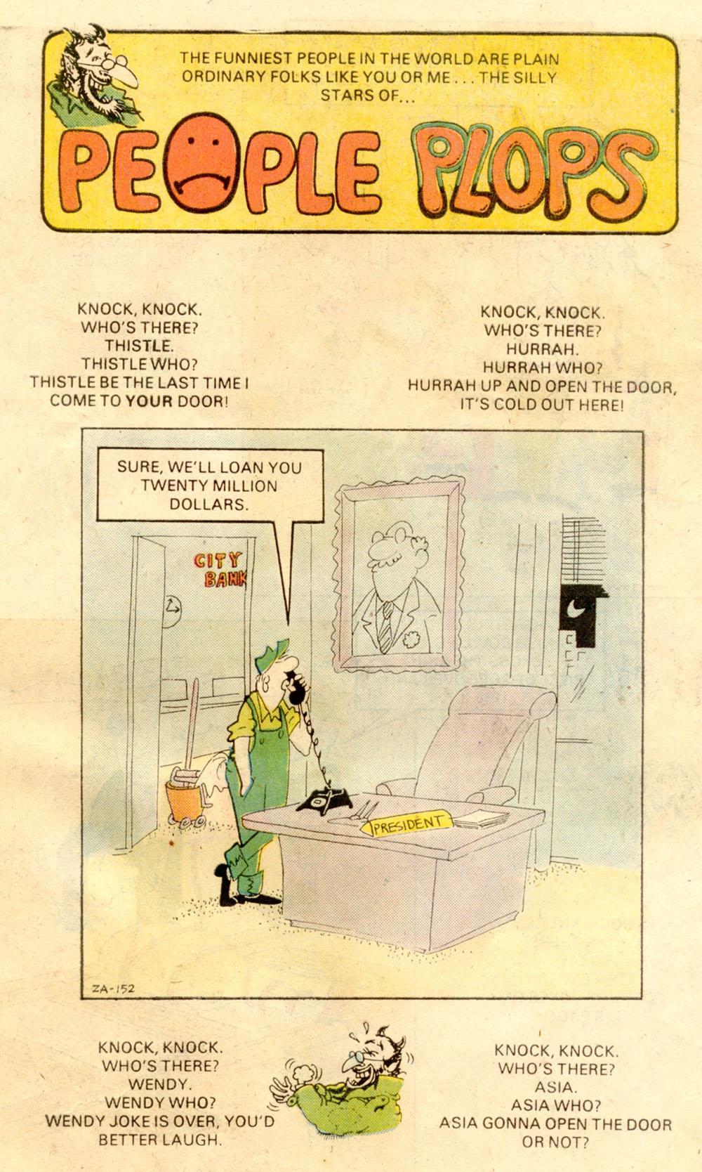 Read online Plop! comic -  Issue #21 - 31