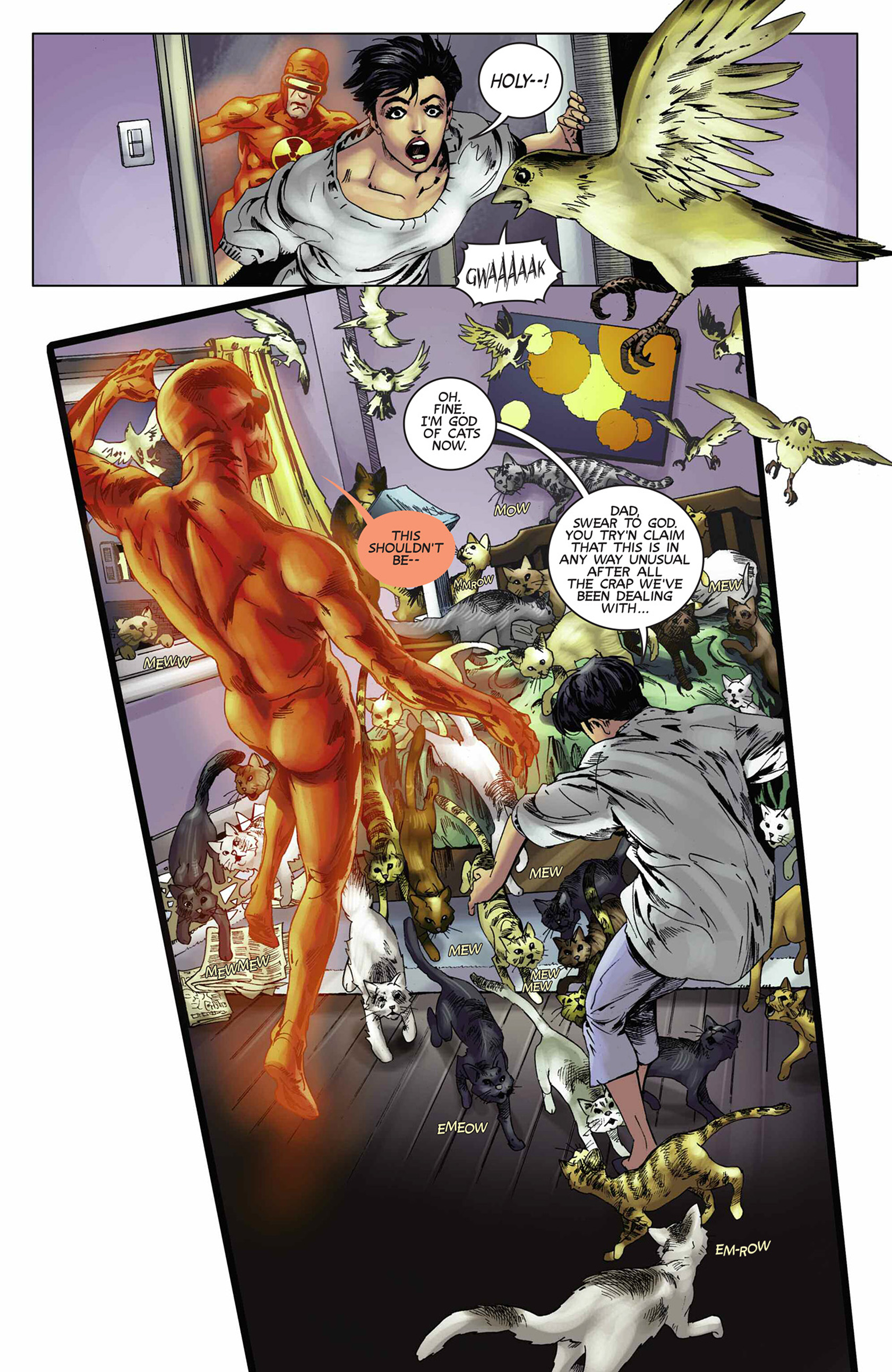 Read online Solar: Man of the Atom (2014) comic -  Issue #9 - 12