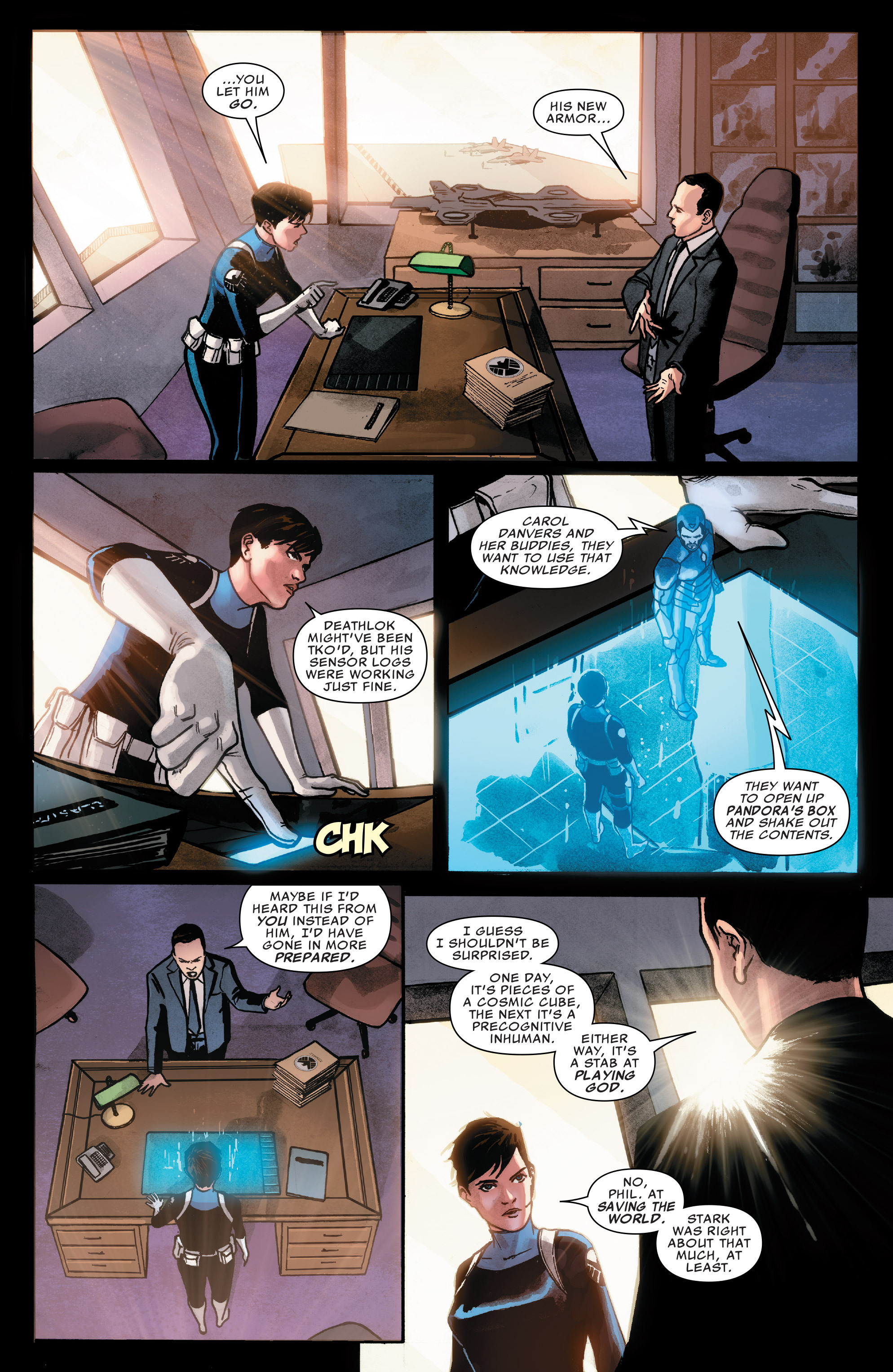 Read online Agents of S.H.I.E.L.D. comic -  Issue #7 - 18