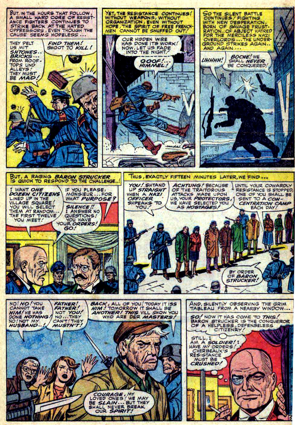 Read online Sgt. Fury comic -  Issue #28 - 9
