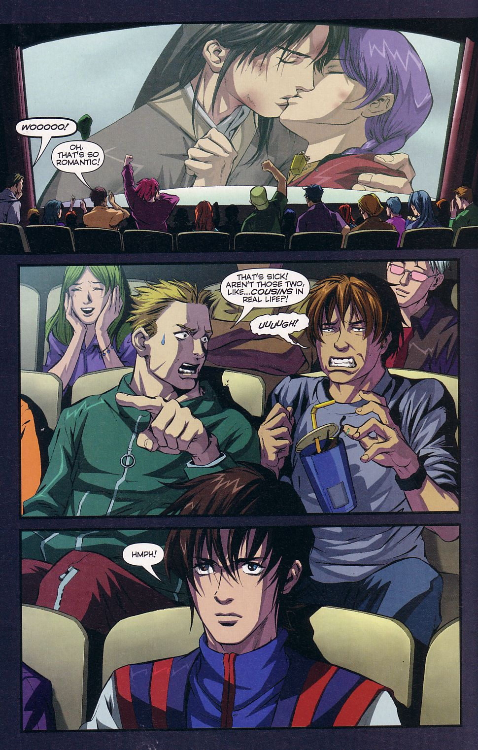 Read online Robotech: Love and War comic -  Issue #5 - 20