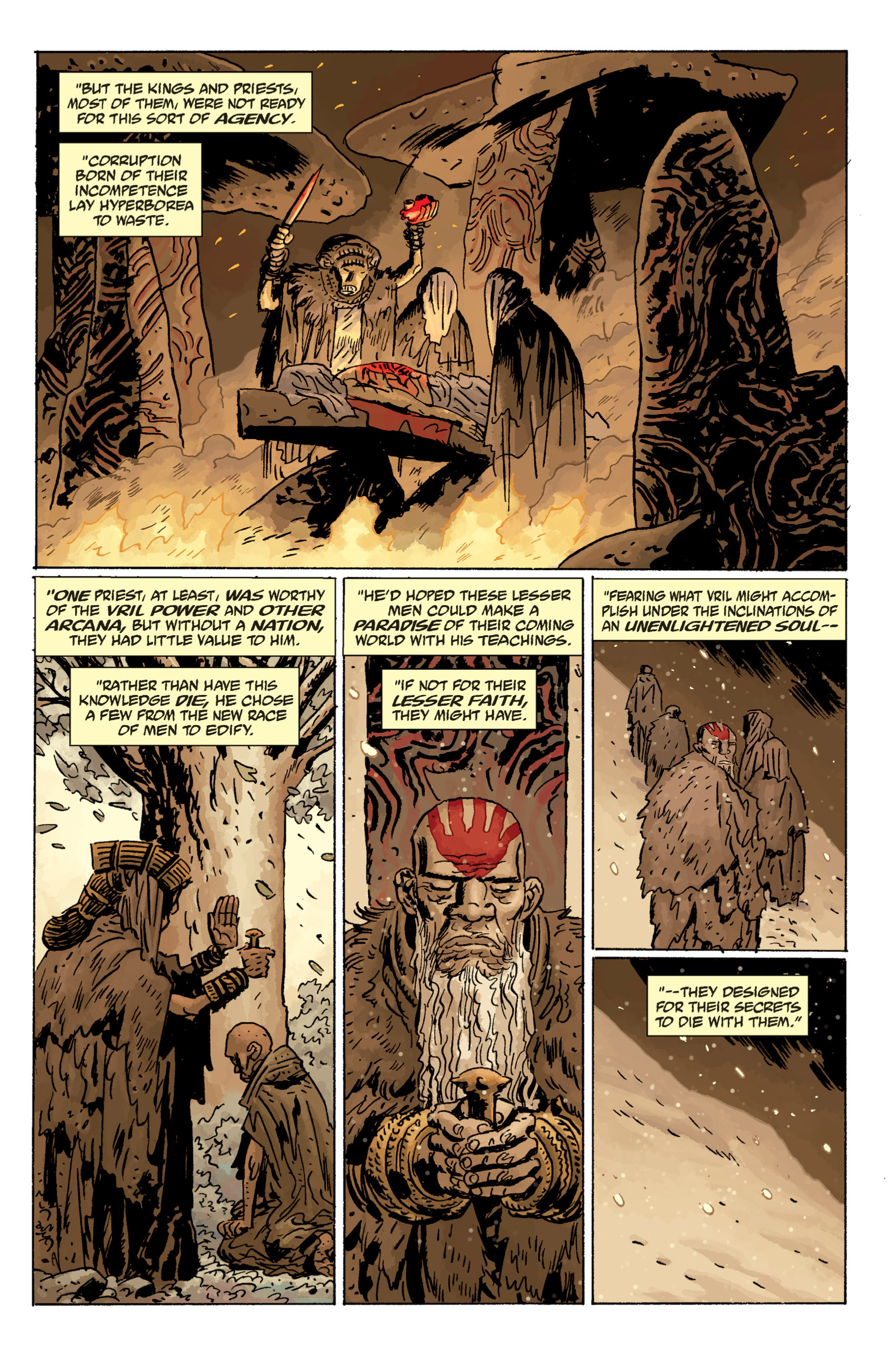 Read online B.P.R.D. (2003) comic -  Issue # TPB 11 - 91