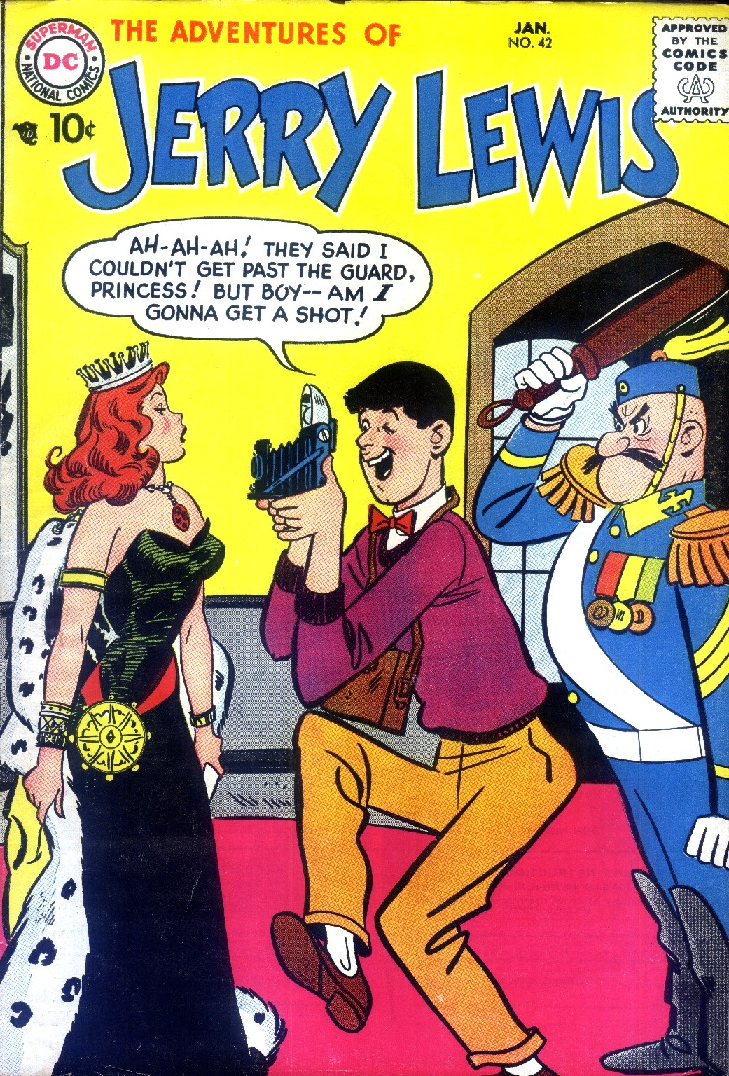 The Adventures of Jerry Lewis issue 42 - Page 1