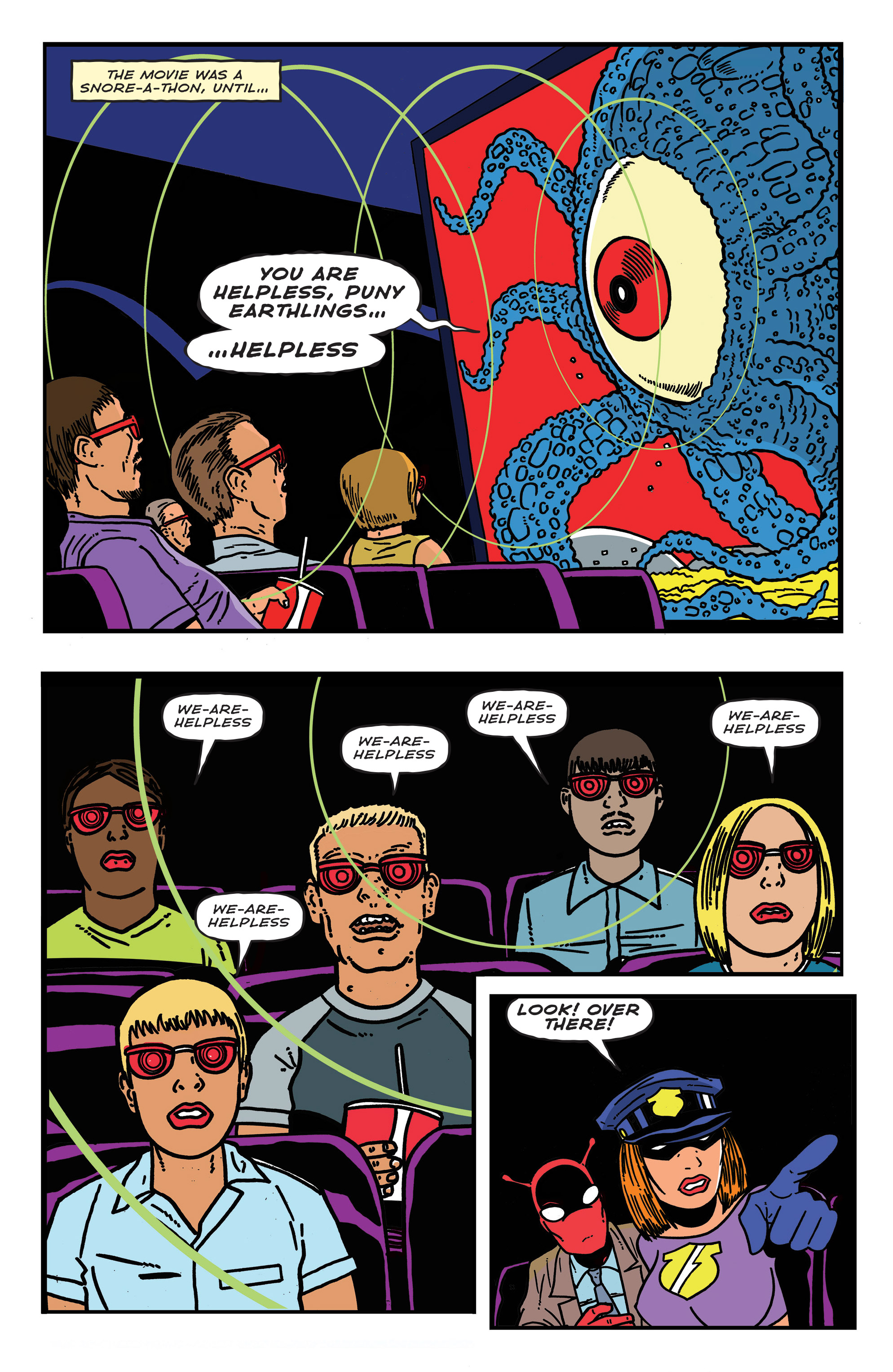 Read online Bulletproof Coffin: The Thousand Yard Stare comic -  Issue # Full - 15