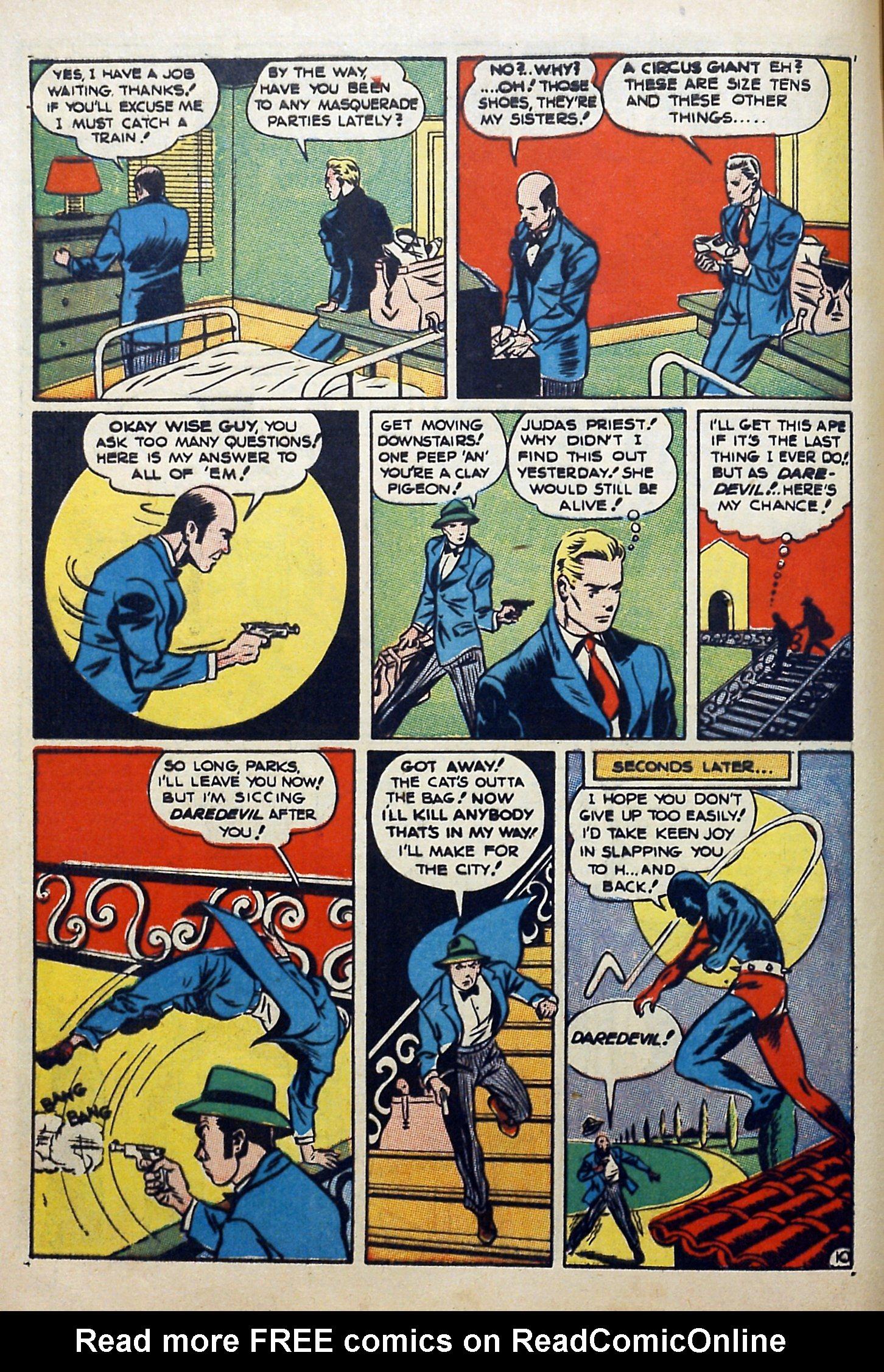 Daredevil (1941) issue 3 - Page 12