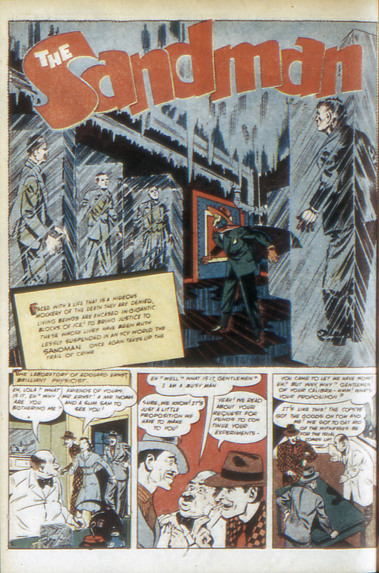 Read online Adventure Comics (1938) comic -  Issue #68 - 59